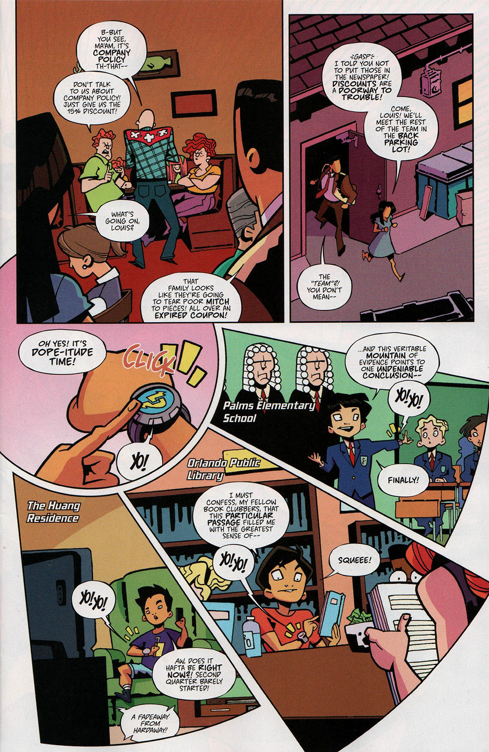 Read online Free Comic Book Day 2017 comic -  Issue # Fresh Off The Boat - 5