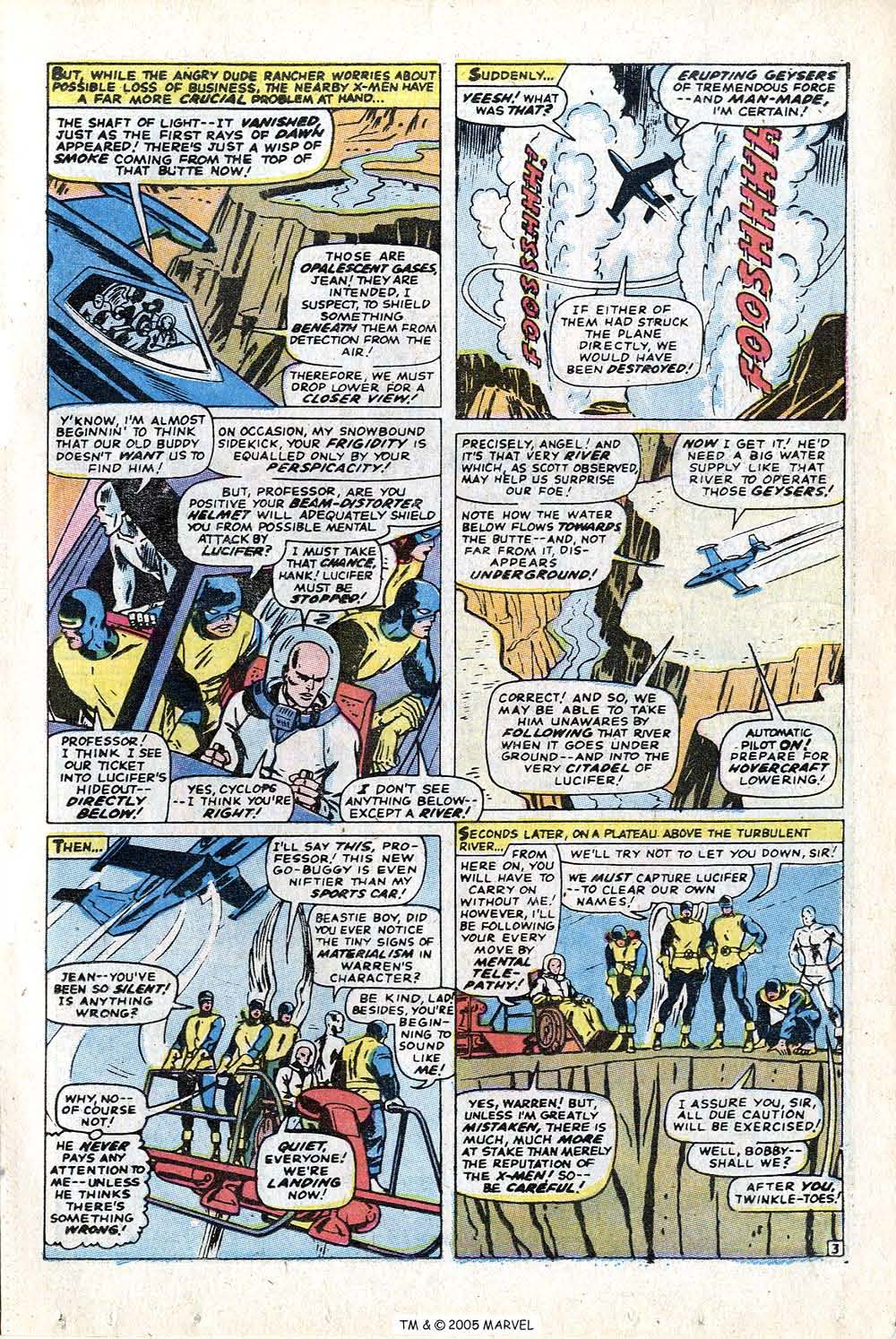 Read online Uncanny X-Men (1963) comic -  Issue #72 - 5