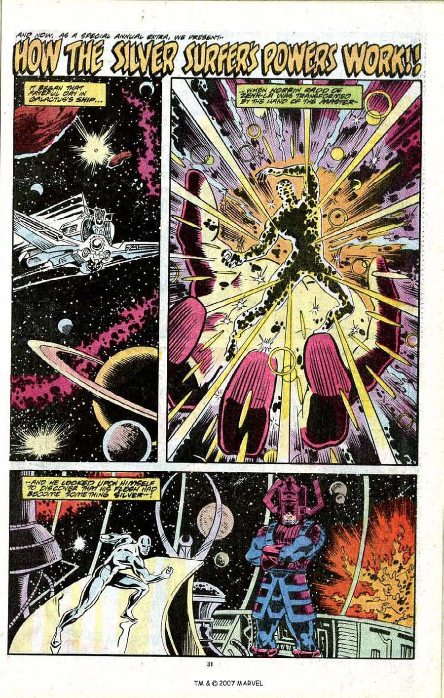 Read online Silver Surfer (1987) comic -  Issue # _Annual 2 - 33