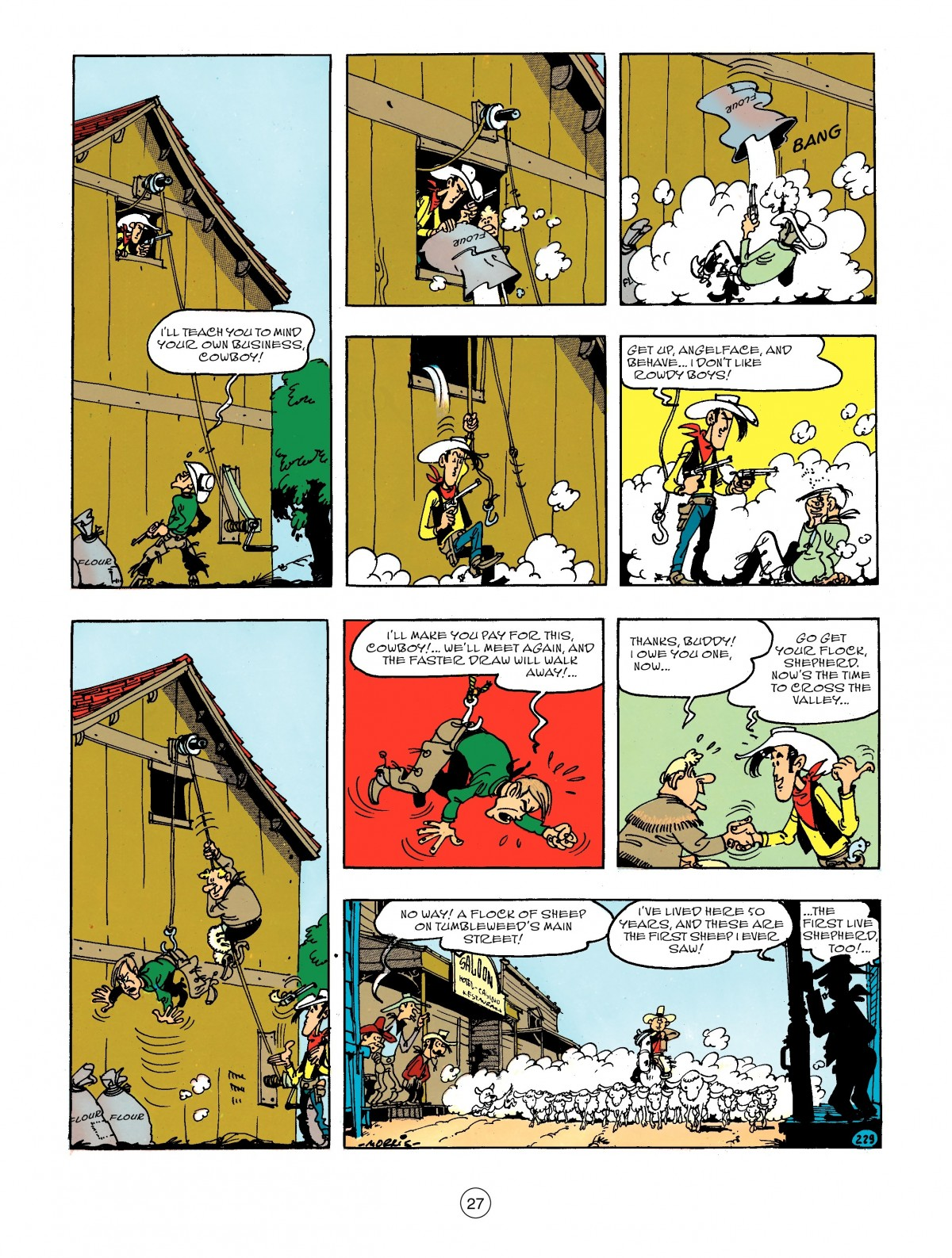 Read online A Lucky Luke Adventure comic -  Issue #44 - 27
