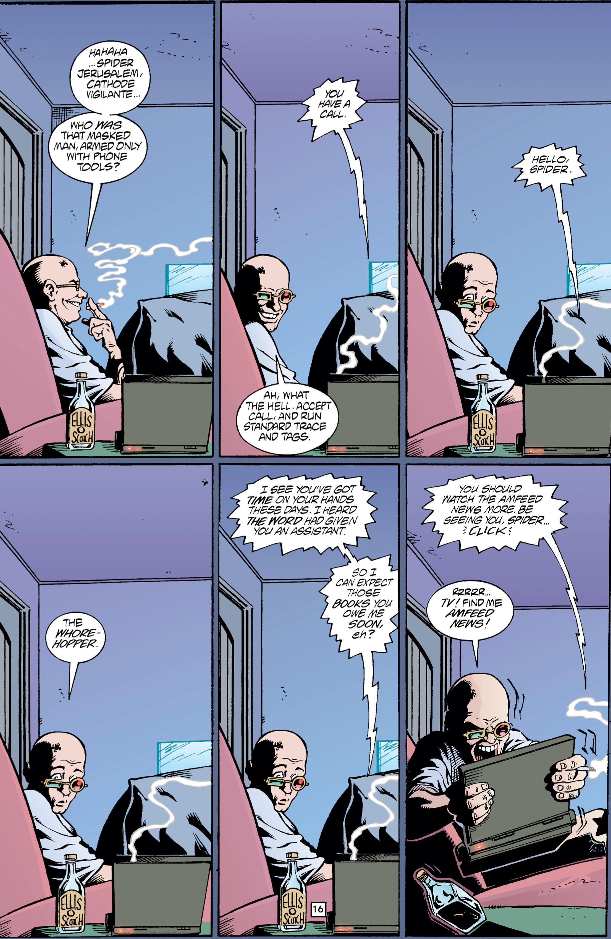 Read online Transmetropolitan comic -  Issue #5 - 17