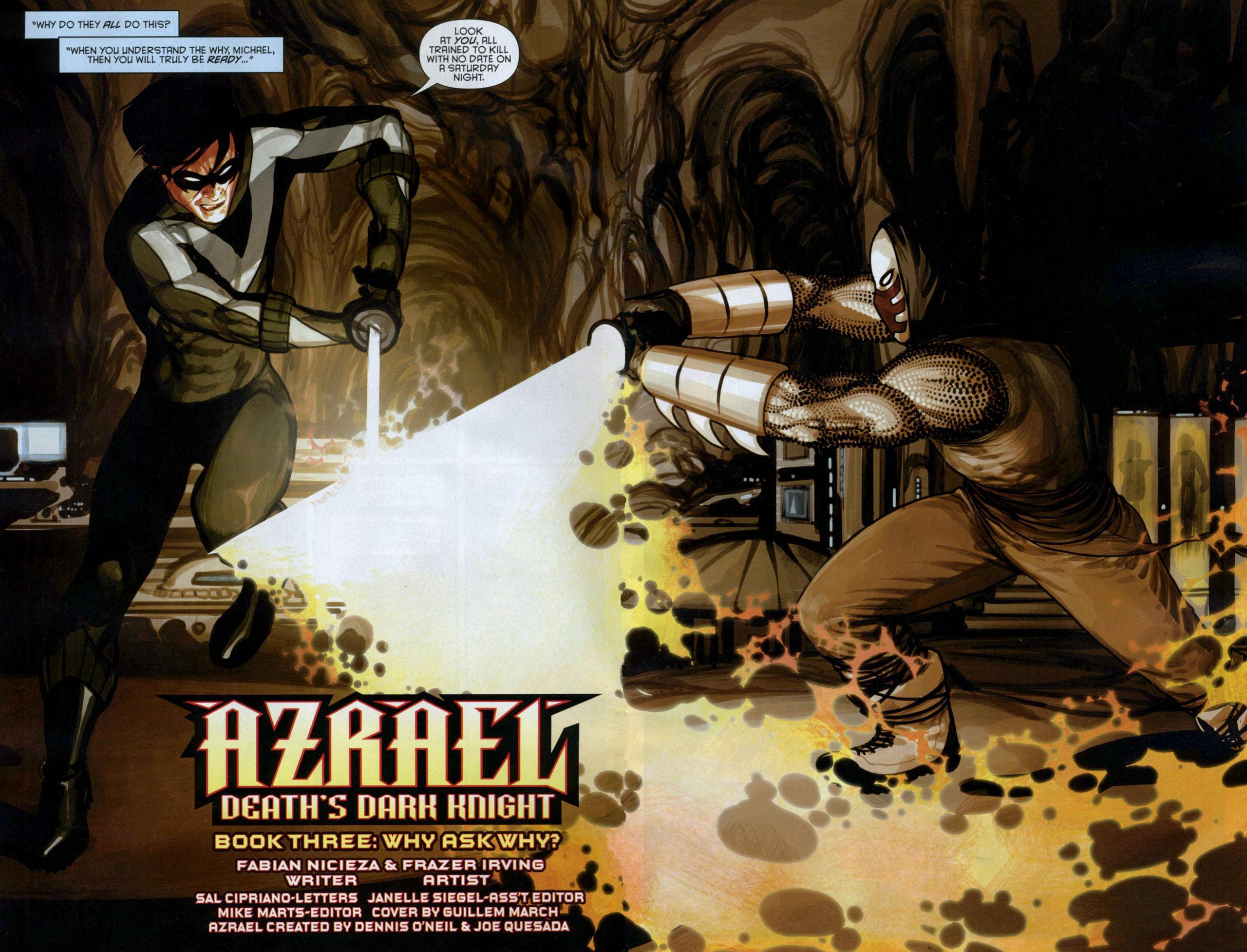 Read online Azrael: Death's Dark Knight comic -  Issue #3 - 4
