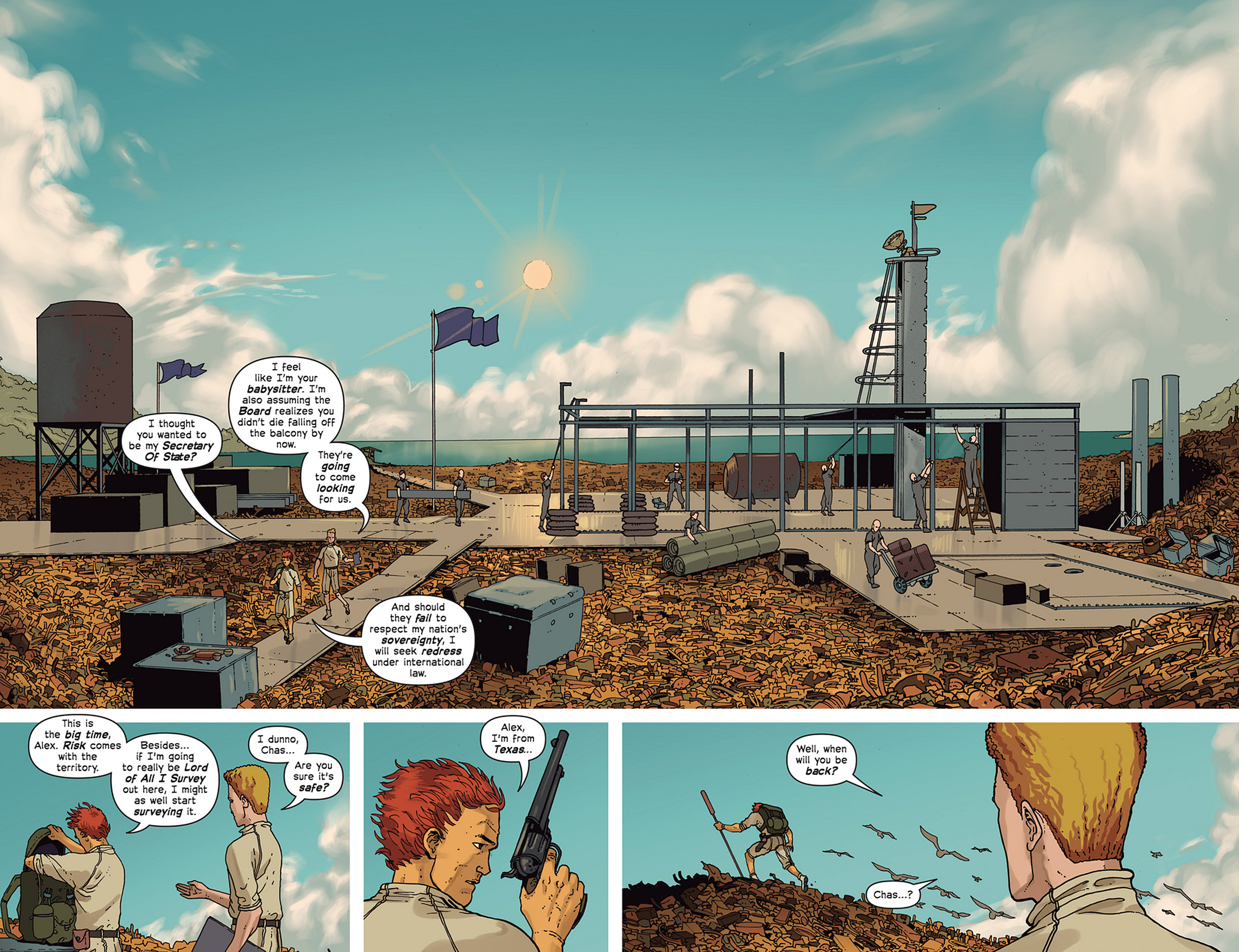 Read online Great Pacific comic -  Issue #2 - 4