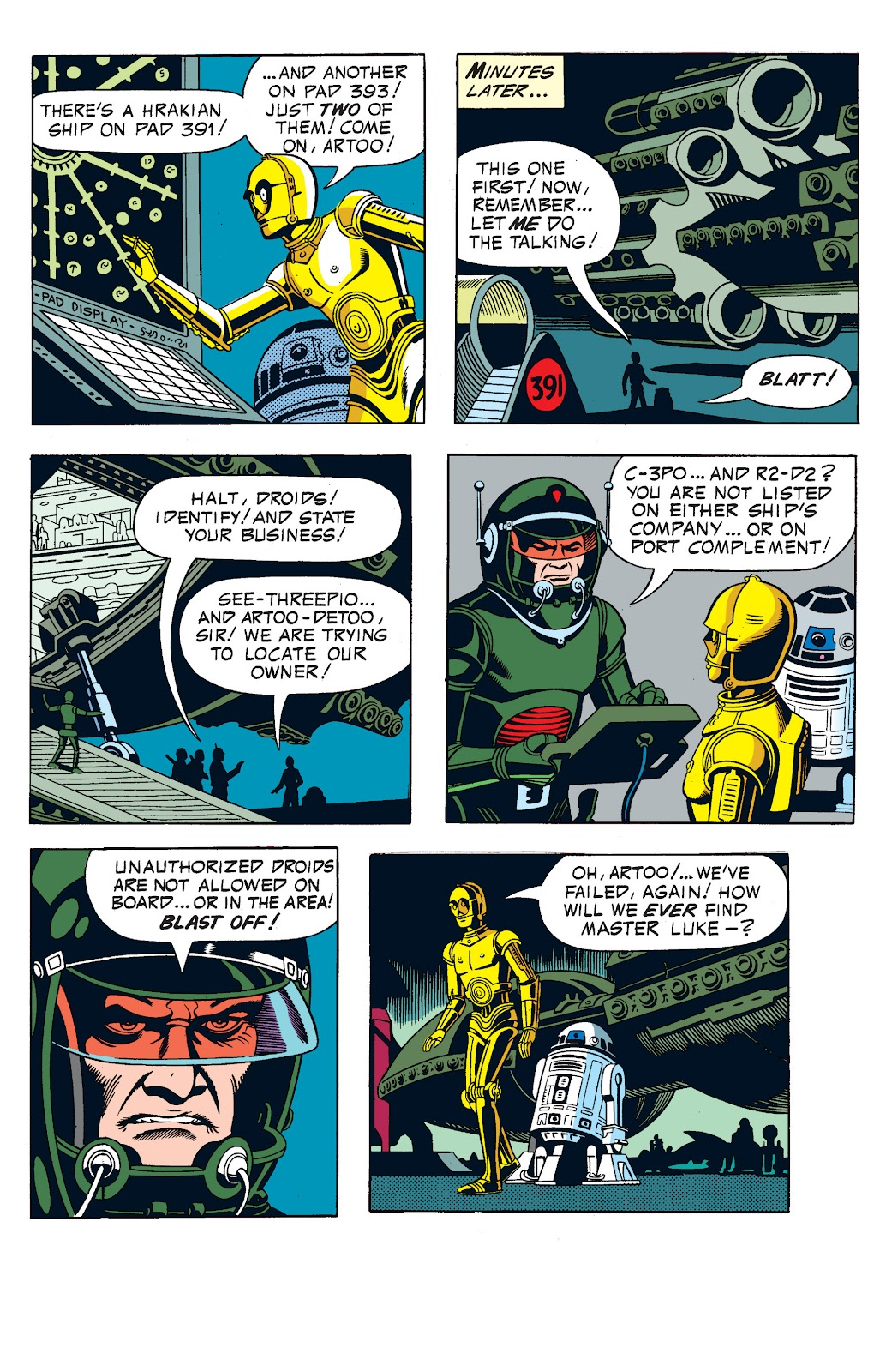 Read online Star Wars Legends: The Newspaper Strips - Epic Collection comic -  Issue # TPB (Part 1) - 59