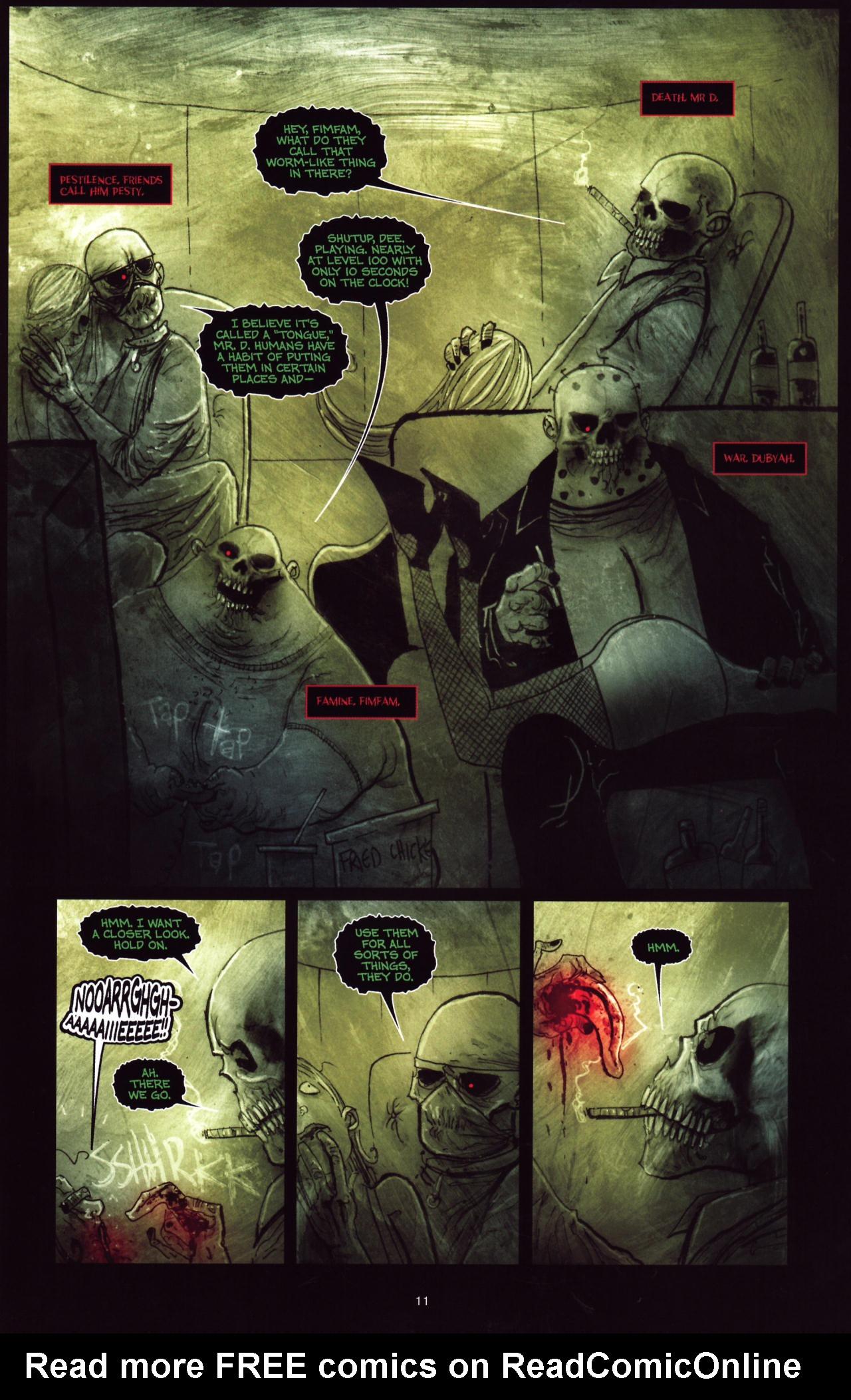 Read online Wormwood: Gentleman Corpse comic -  Issue #8 - 12
