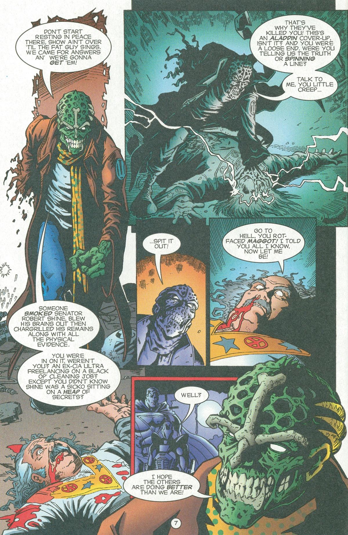 Read online UltraForce (1995) comic -  Issue #6 - 9