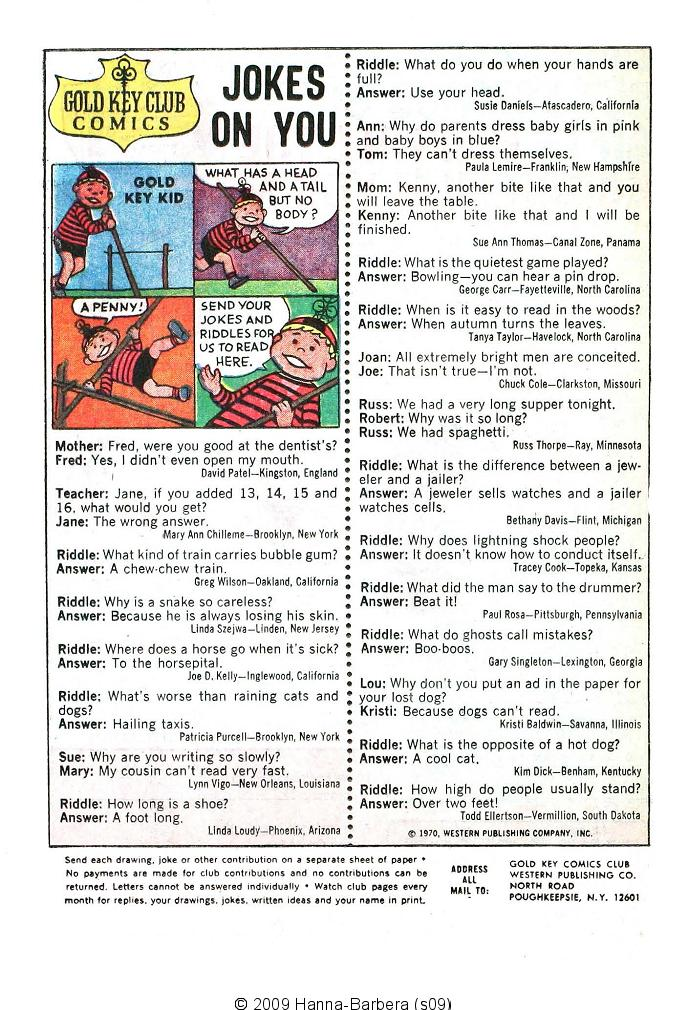 Read online Scooby-Doo... Where Are You! (1970) comic -  Issue #5 - 20
