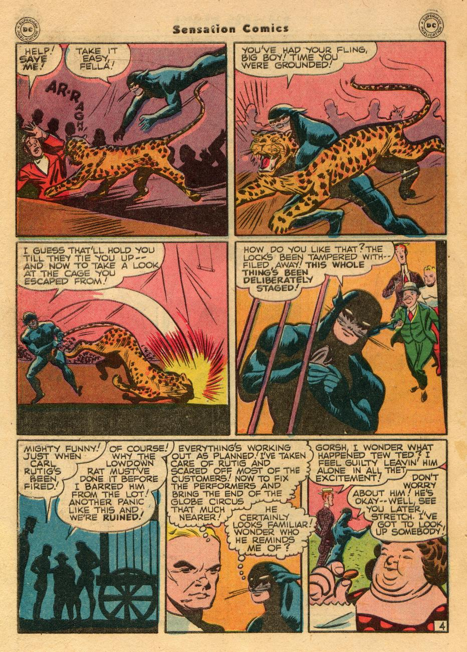 Read online Sensation (Mystery) Comics comic -  Issue #61 - 44
