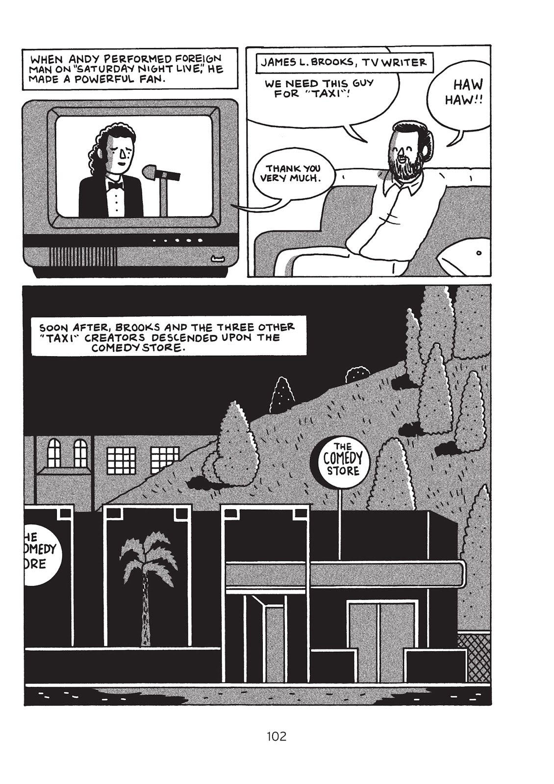 Read online Is This Guy For Real?: The Unbelievable Andy Kaufman comic -  Issue # TPB (Part 2) - 8