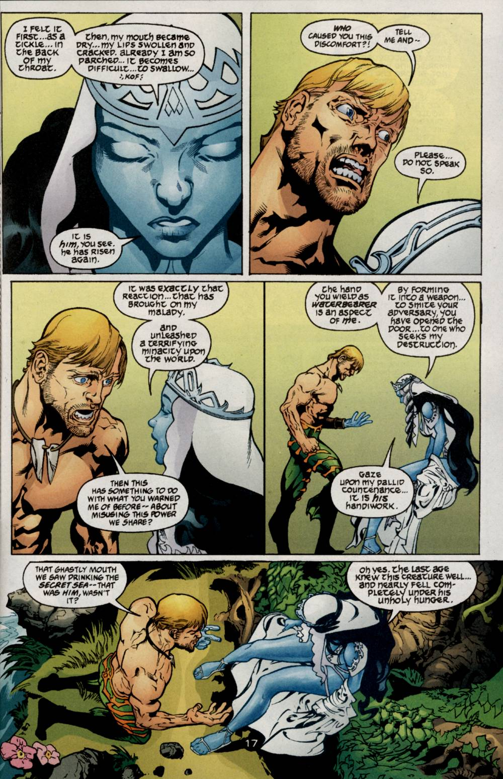 Read online Aquaman (2003) comic -  Issue #5 - 19
