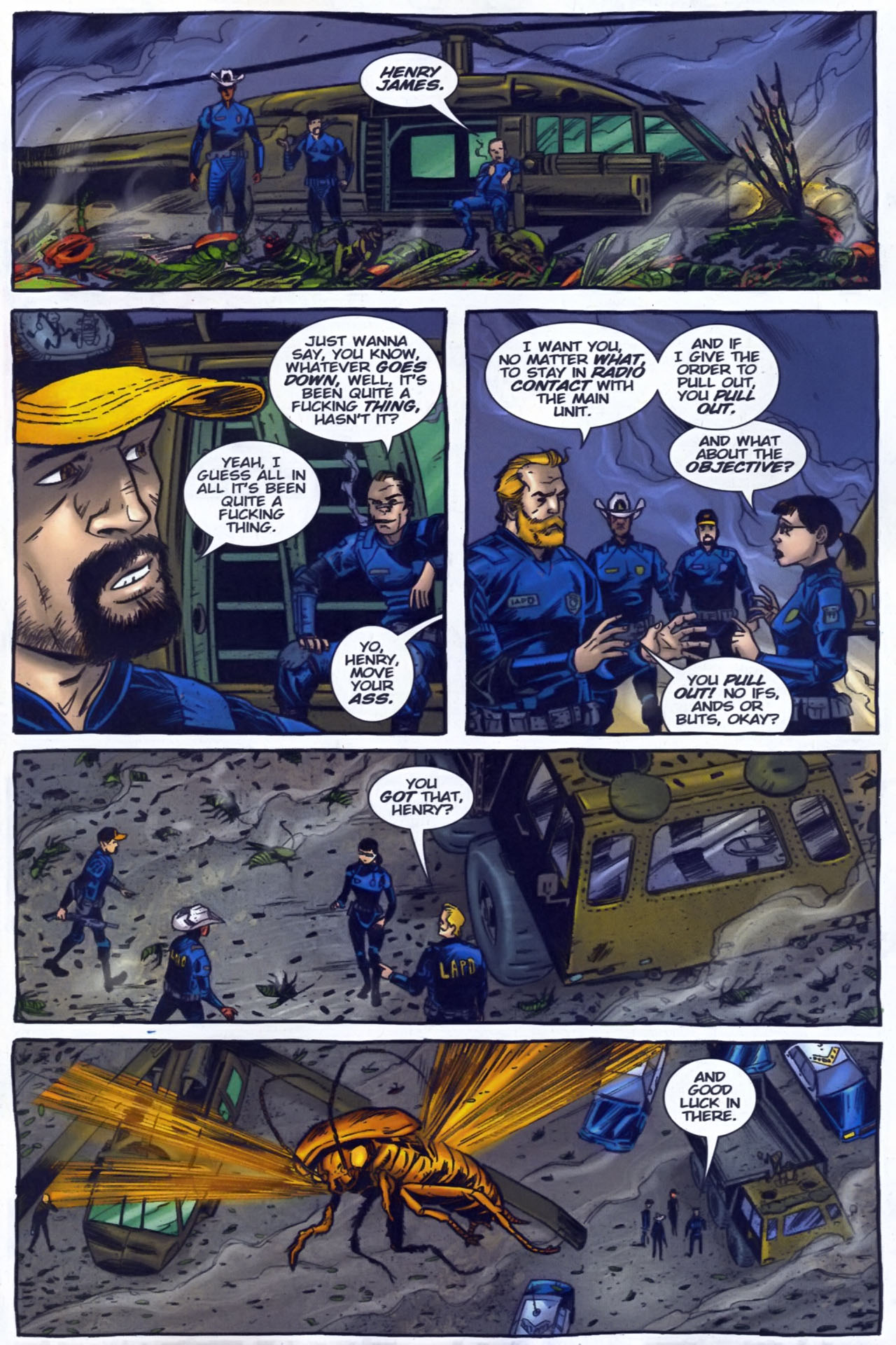 Read online The Exterminators comic -  Issue #29 - 21