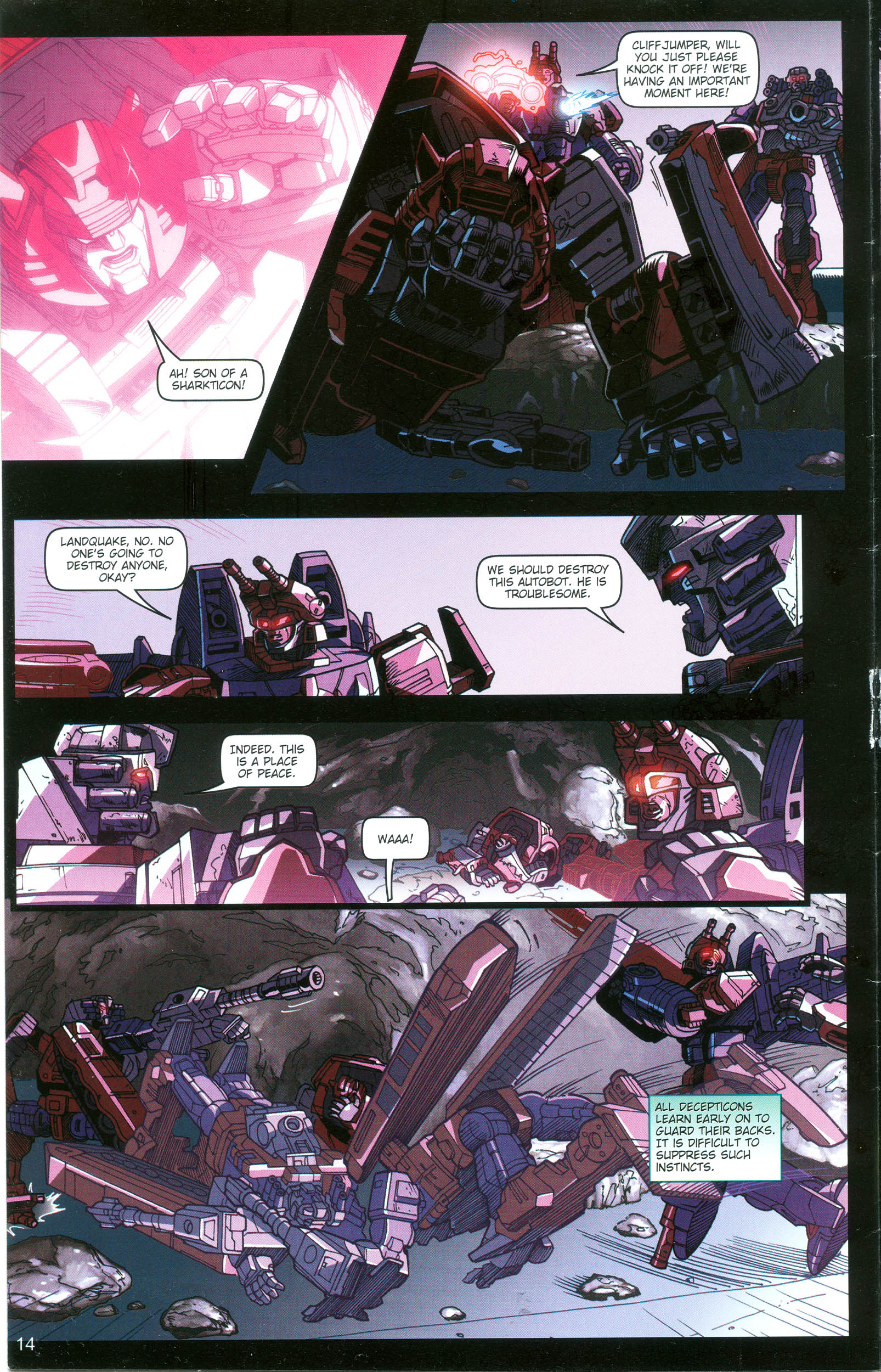 Read online Transformers: Collectors' Club comic -  Issue #16 - 14