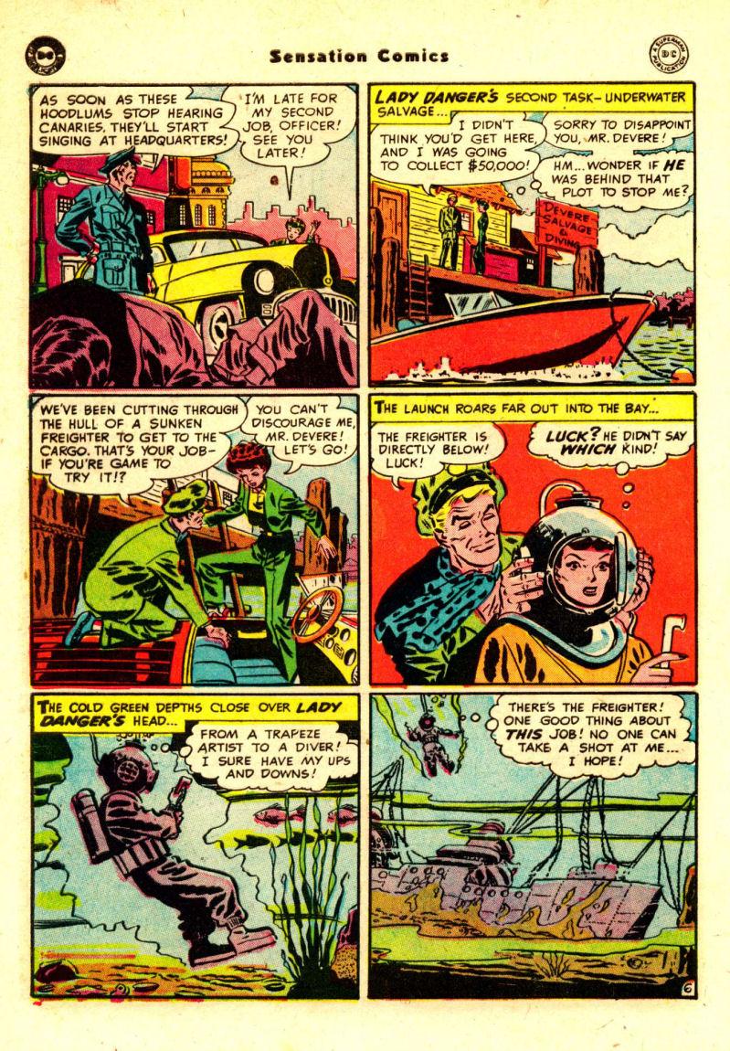 Read online Sensation (Mystery) Comics comic -  Issue #88 - 45