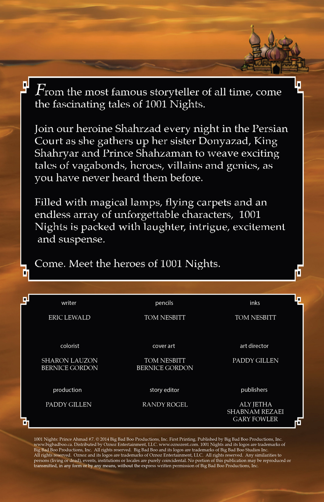 Read online 1001 Nights comic -  Issue #7 - 2
