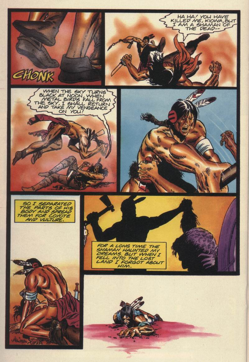 Read online Turok, Dinosaur Hunter (1993) comic -  Issue #16 - 15