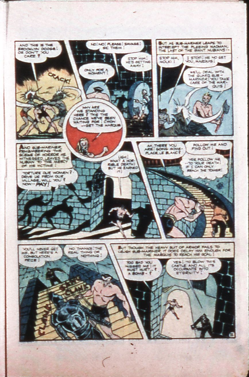 Marvel Mystery Comics (1939) issue 64 - Page 25