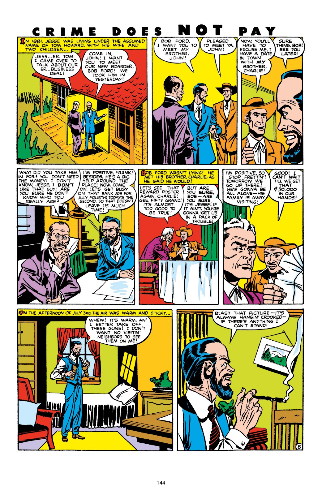 Read online Crime Does Not Pay Archives comic -  Issue # TPB 10 (Part 2) - 45