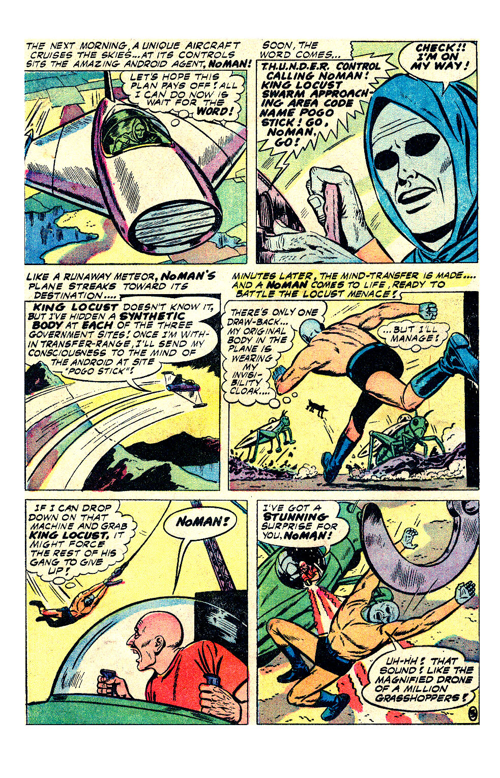 T.H.U.N.D.E.R. Agents (1965) issue 17 - Page 18