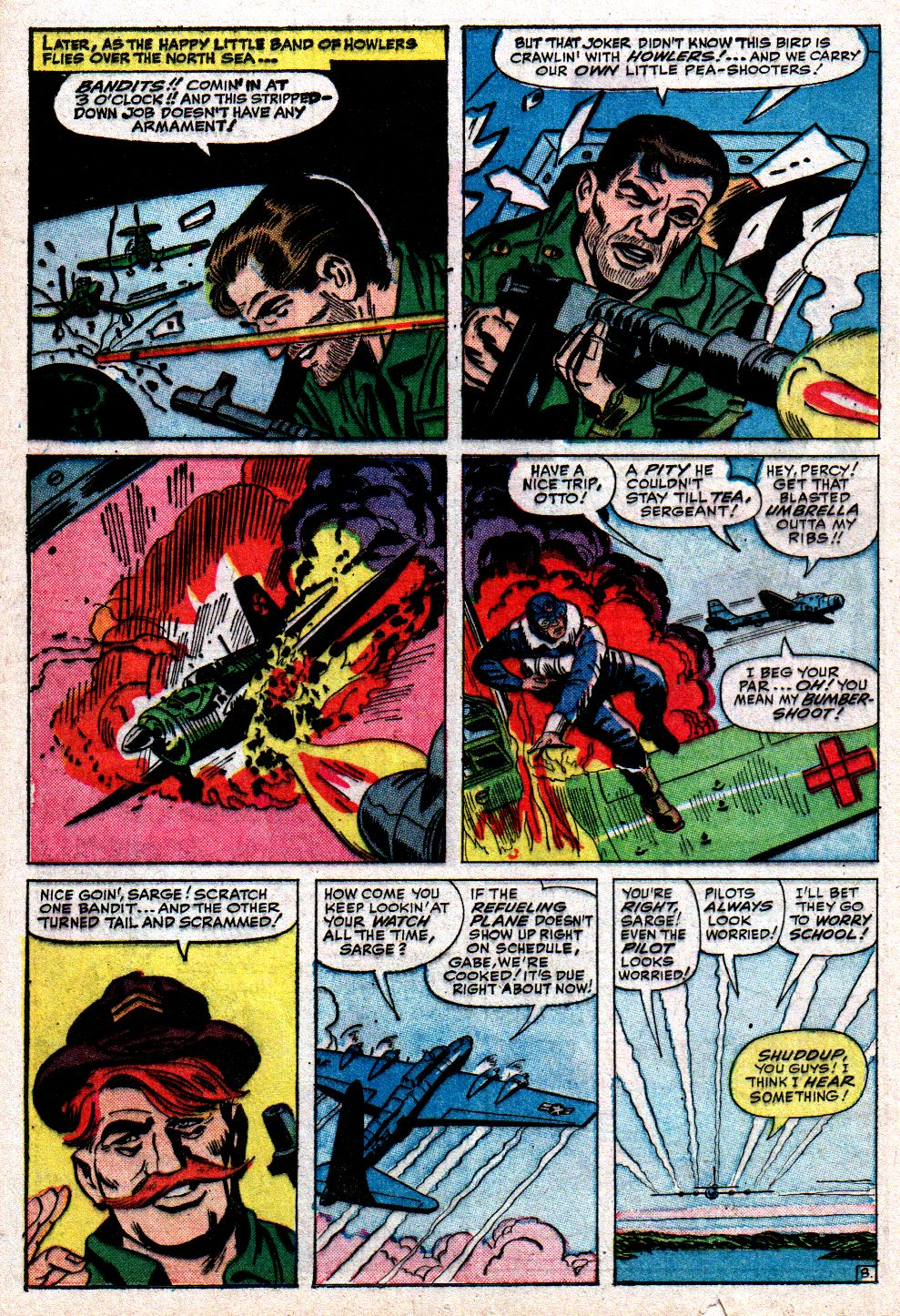 Read online Sgt. Fury comic -  Issue #10 - 12