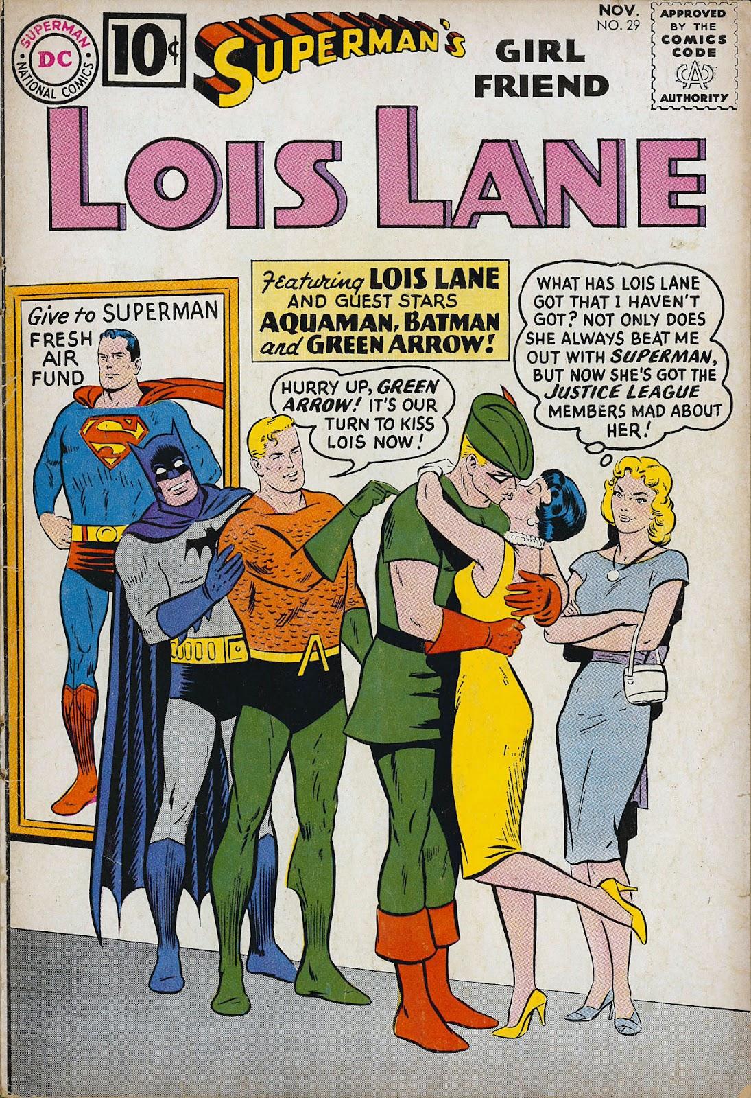 Supermans Girl Friend, Lois Lane 29 Page 1