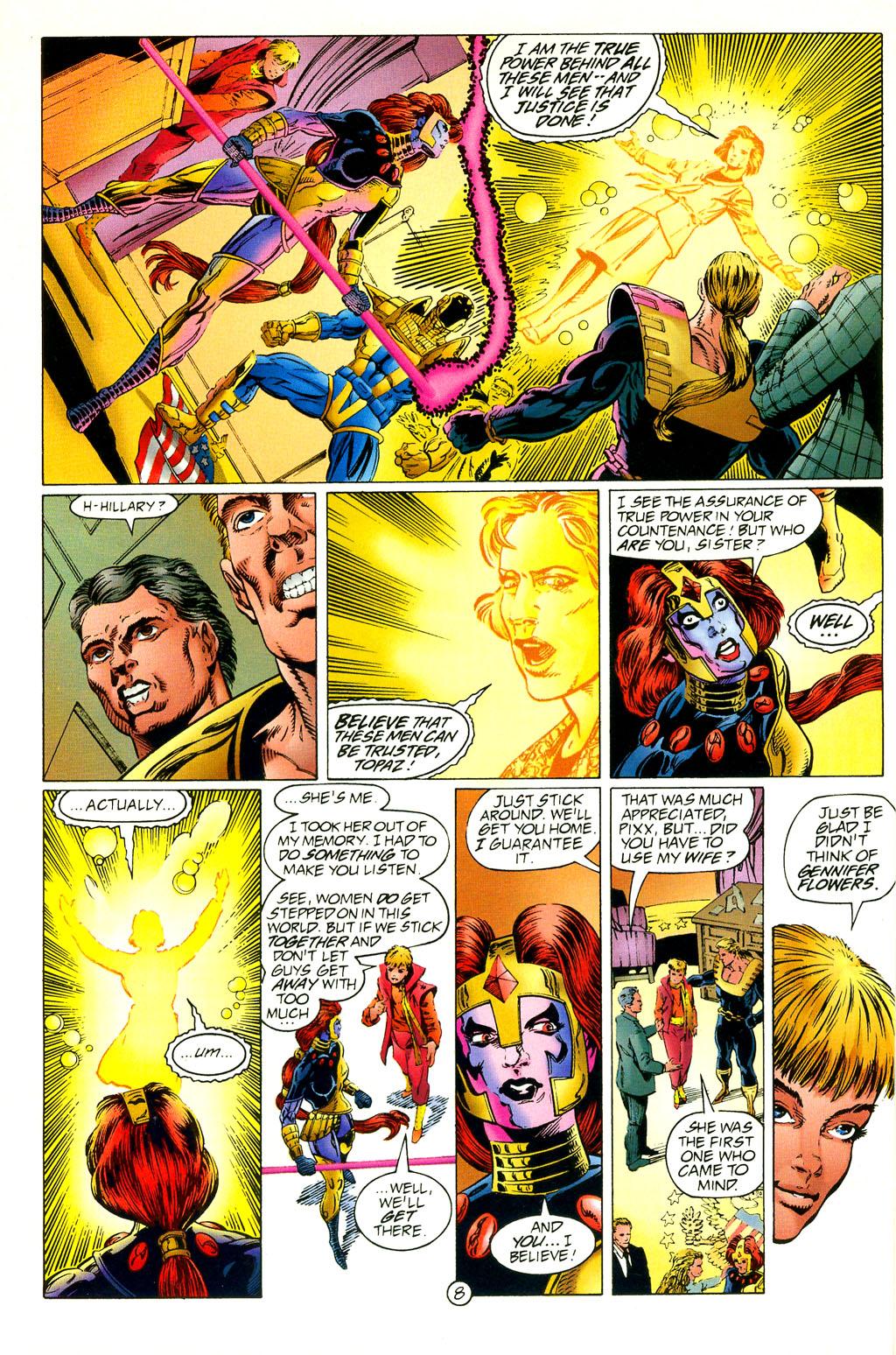 Read online UltraForce (1994) comic -  Issue #2 - 9