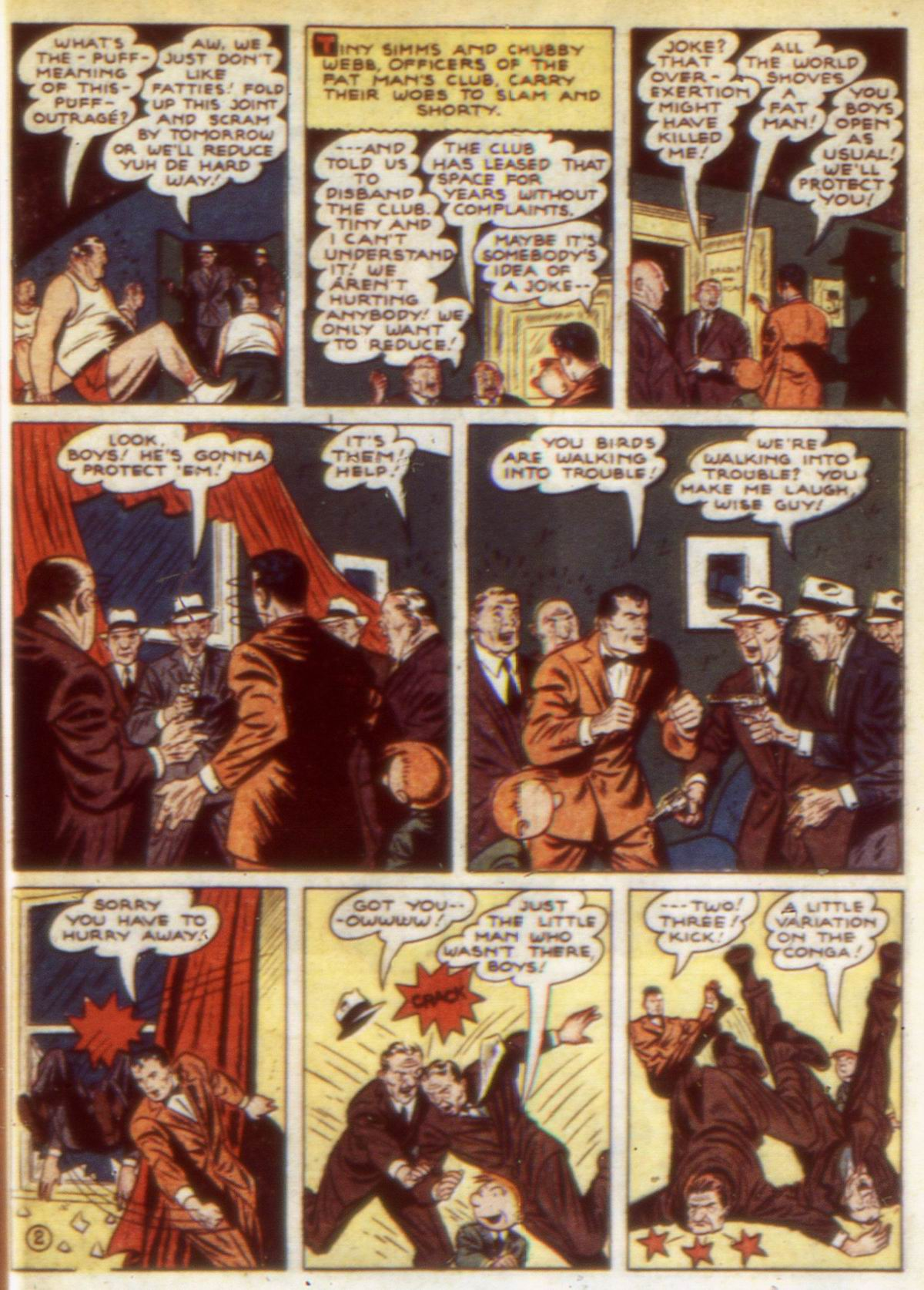 Read online Detective Comics (1937) comic -  Issue #60 - 59
