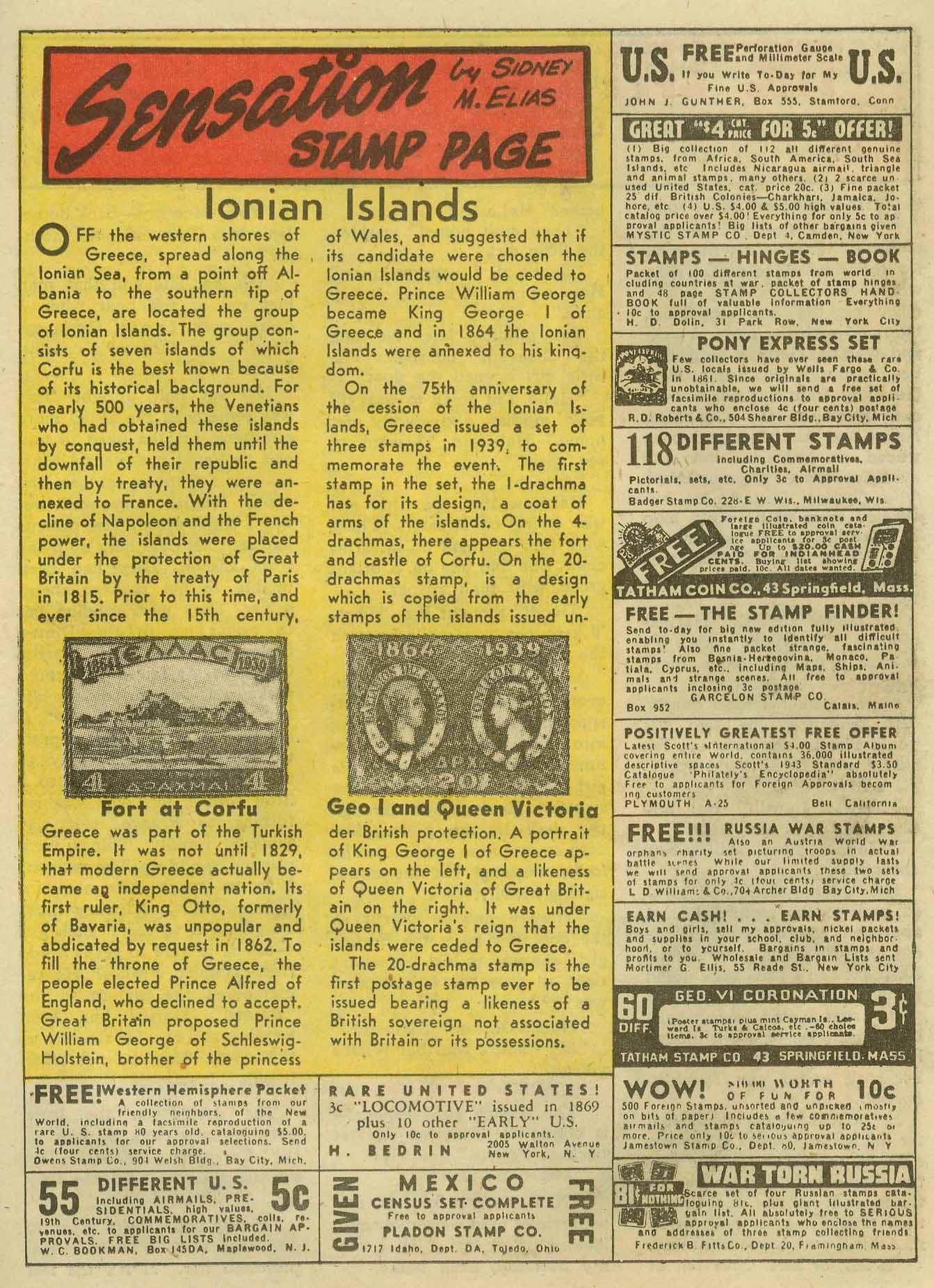Read online Sensation (Mystery) Comics comic -  Issue #14 - 45