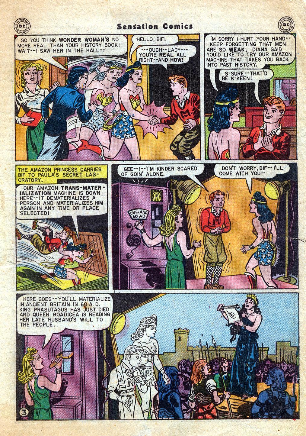Read online Sensation (Mystery) Comics comic -  Issue #60 - 5