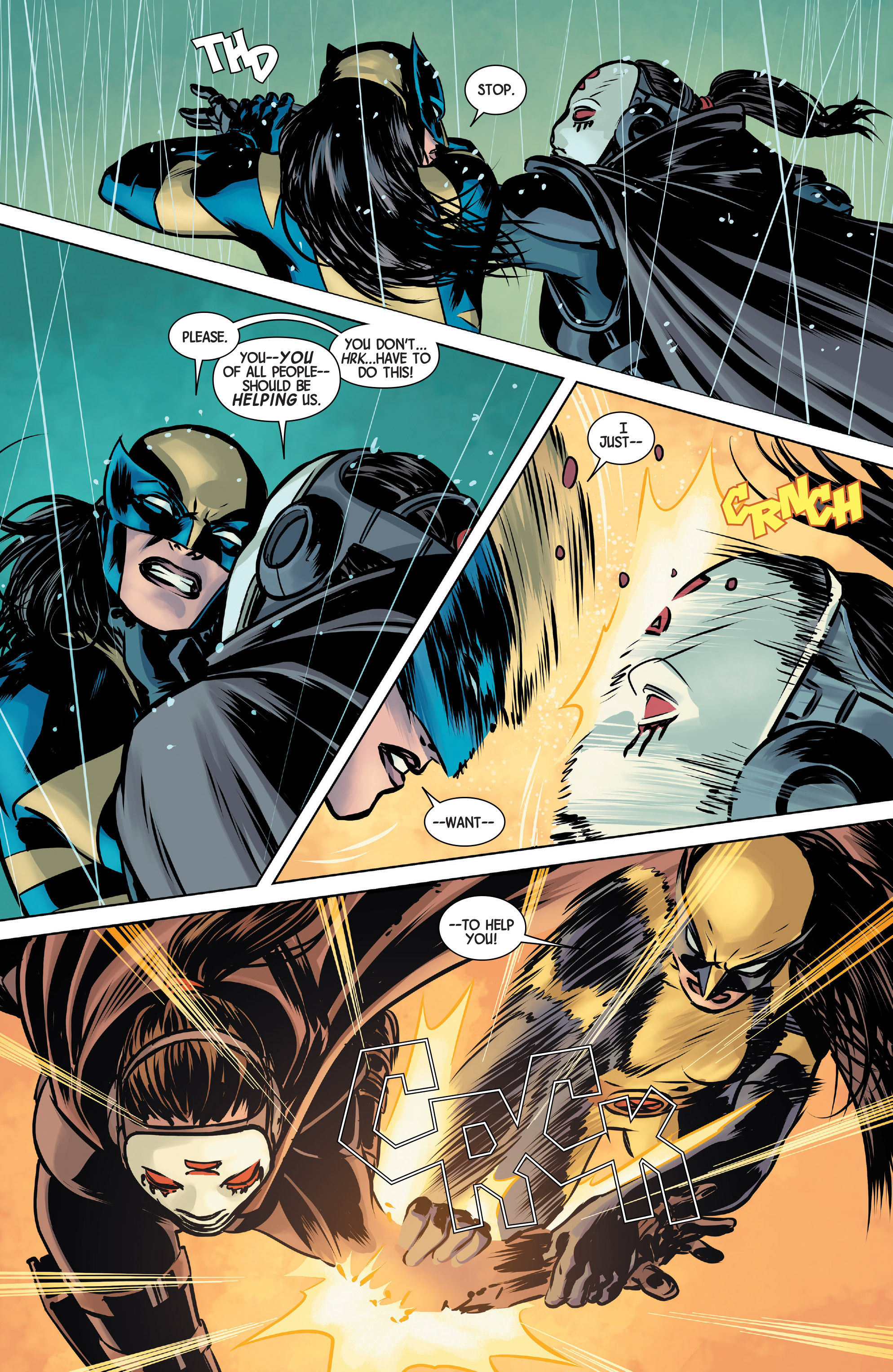 Read online All-New Wolverine (2016) comic -  Issue #1 - 15