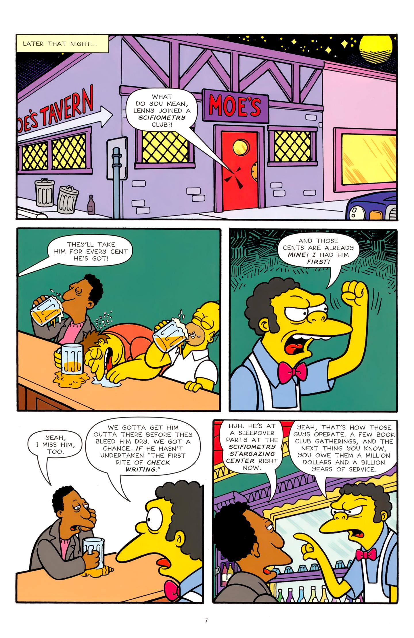 Read online Simpsons Comics comic -  Issue #179 - 7
