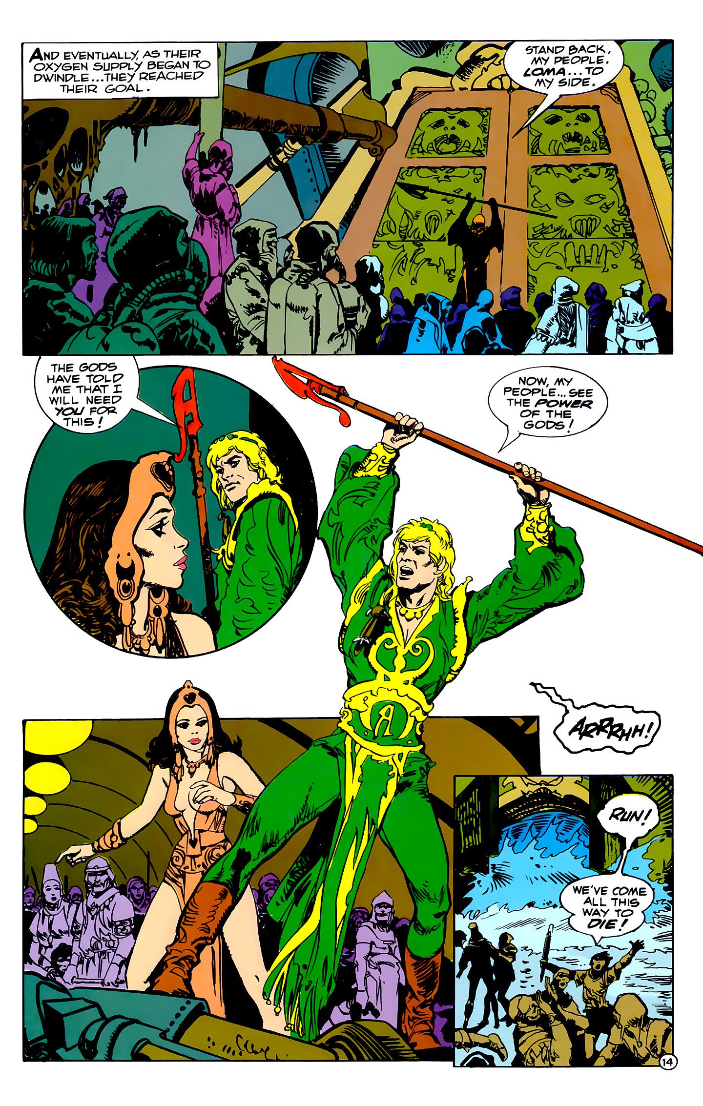 Read online Atlantis Chronicles comic -  Issue #2 - 14