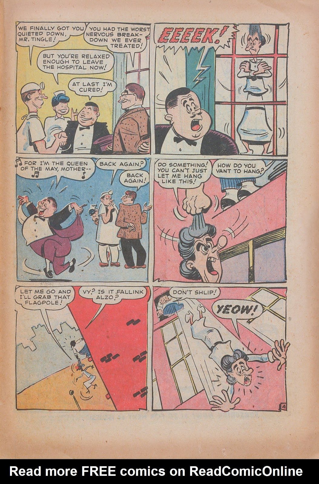 Read online Nellie The Nurse (1945) comic -  Issue #31 - 23