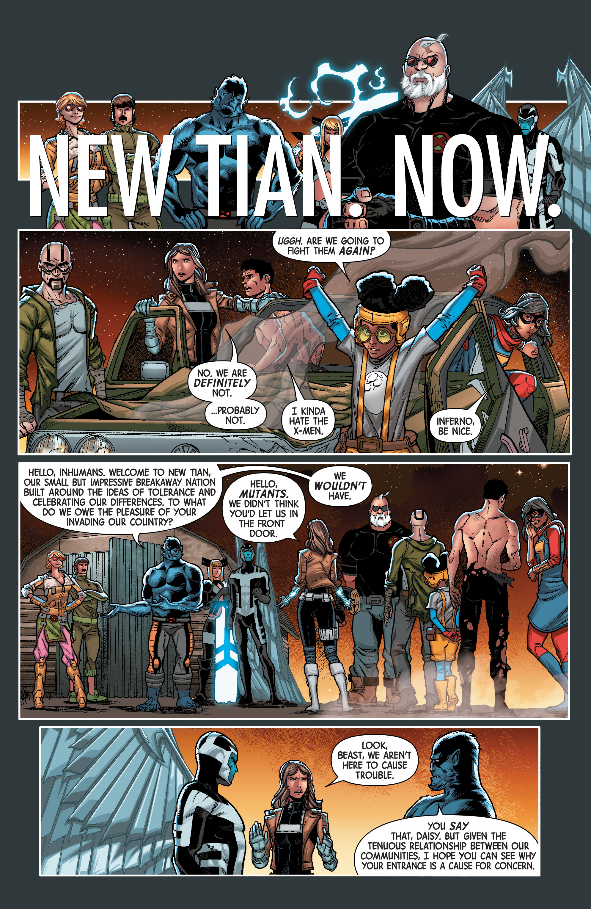 Read online Secret Warriors (2017) comic -  Issue #3 - 5