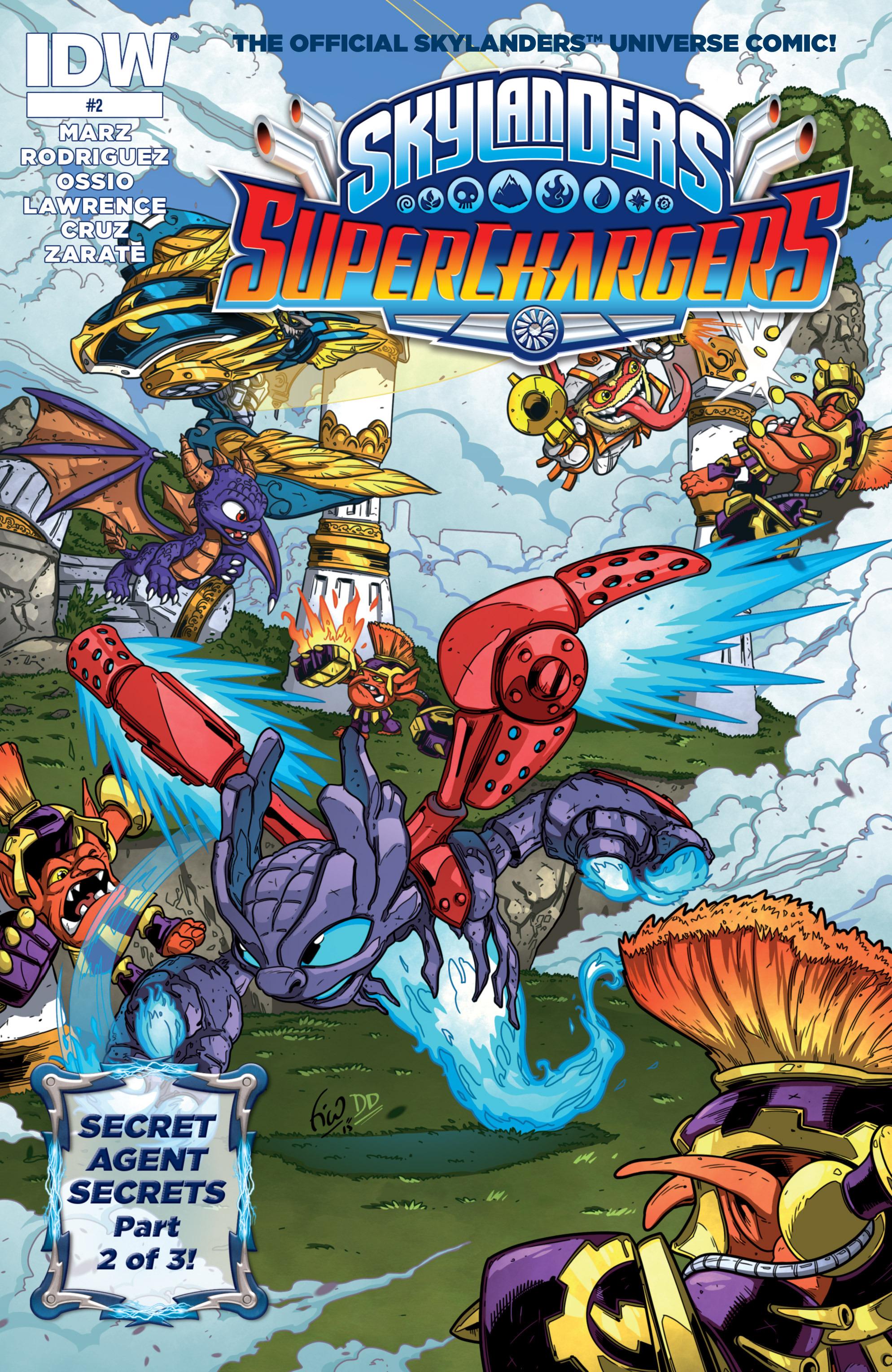 Read online Skylanders Superchargers comic -  Issue #2 - 1
