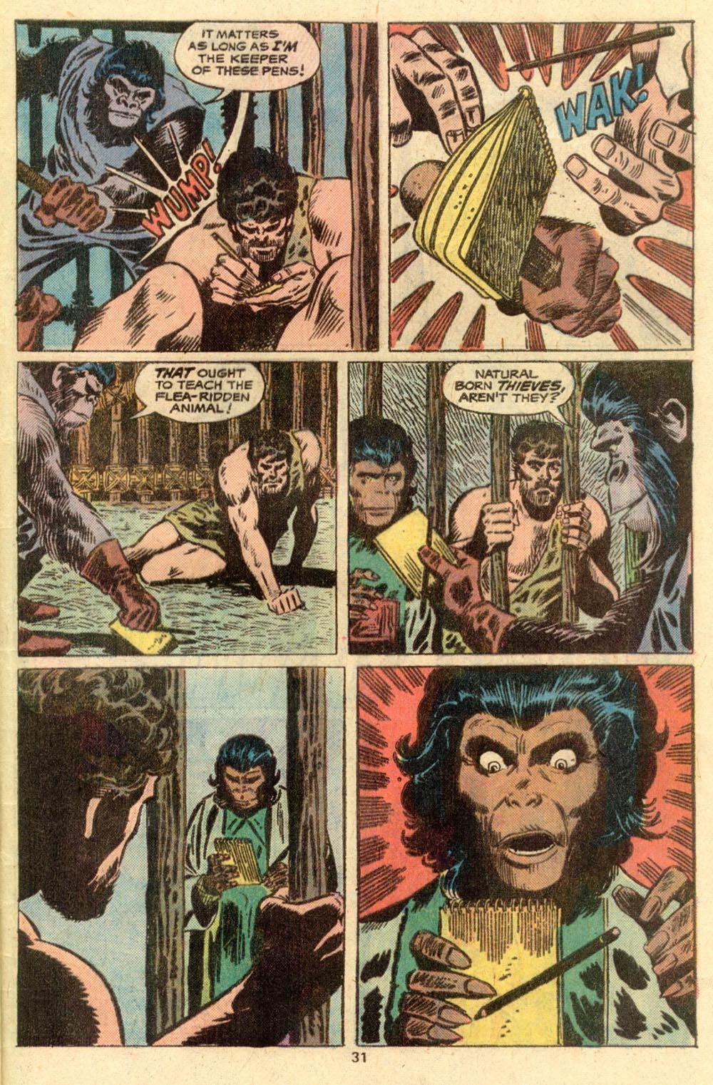 Read online Adventures on the Planet of the Apes comic -  Issue #2 - 22