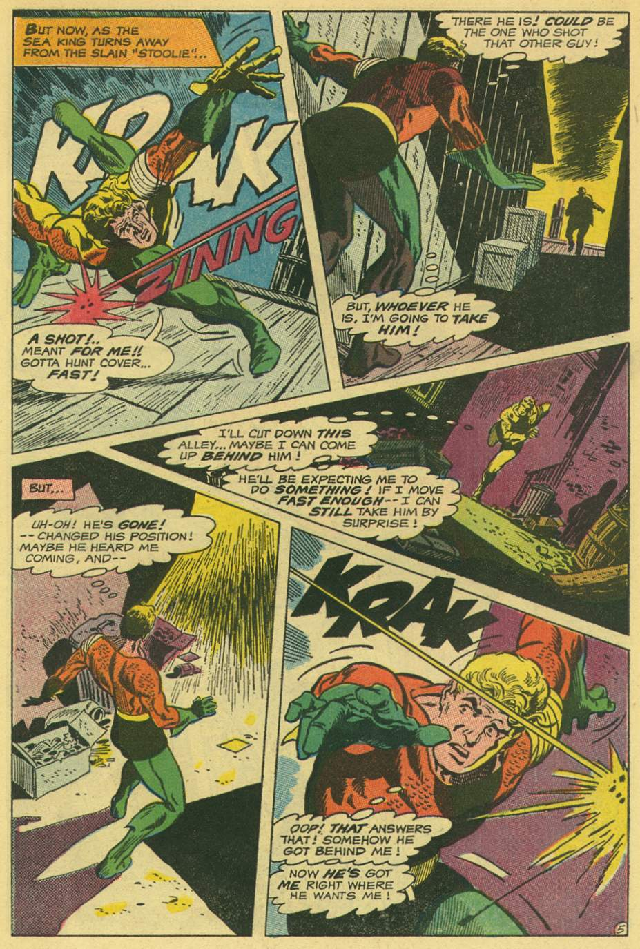 Read online Aquaman (1962) comic -  Issue #44 - 7