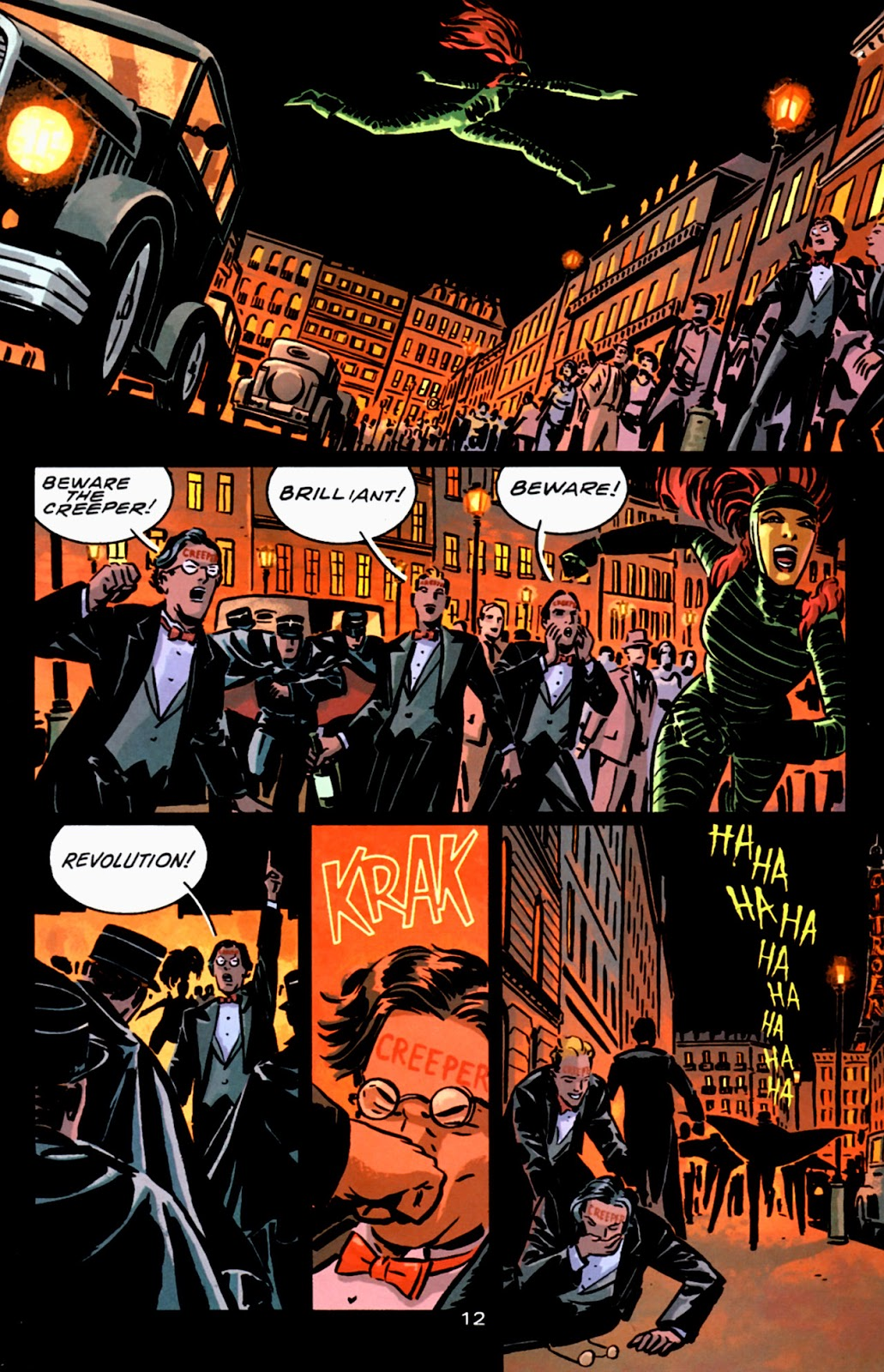 Read online Beware The Creeper (2003) comic -  Issue #3 - 12