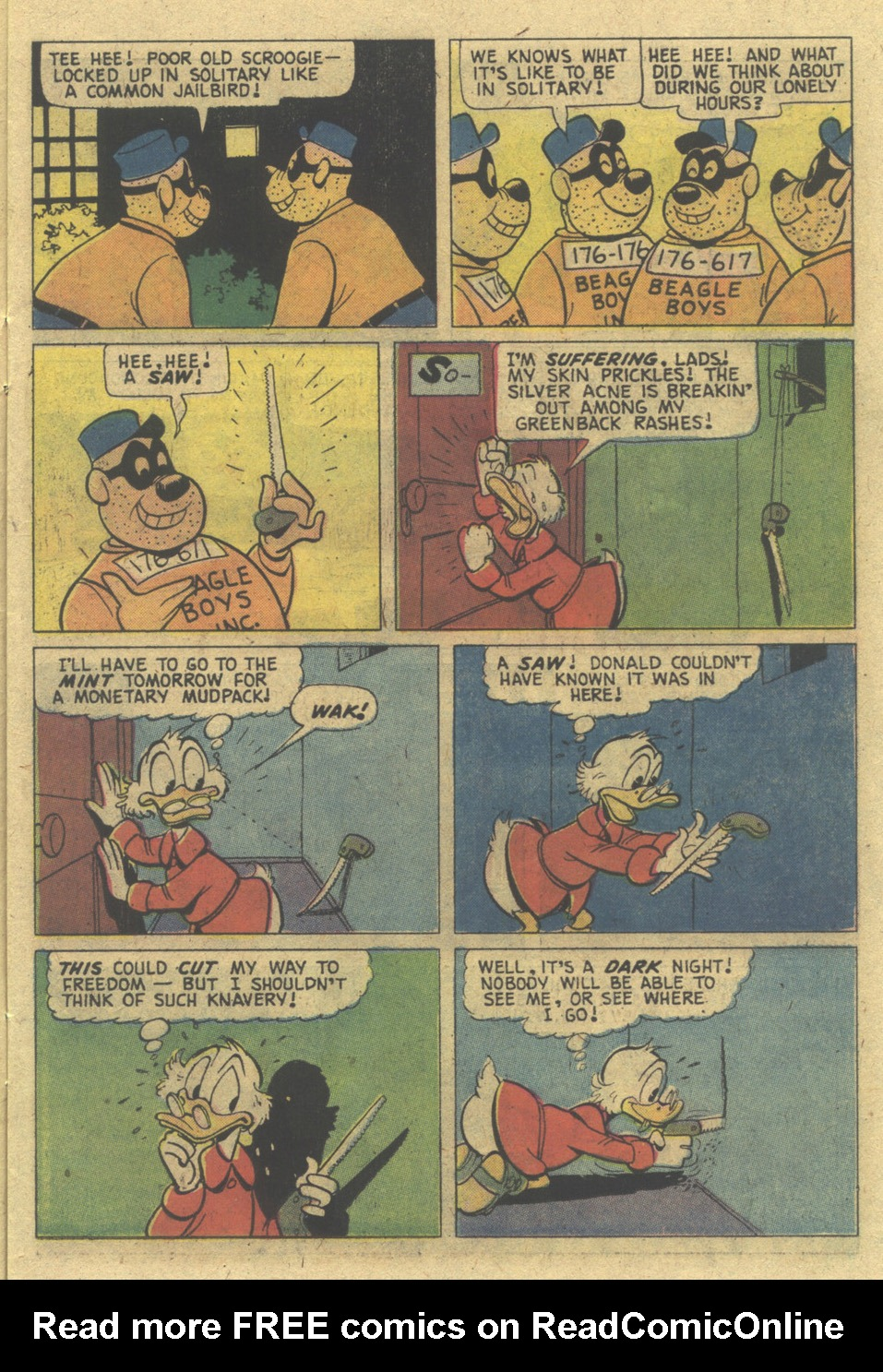 Read online Uncle Scrooge (1953) comic -  Issue #129 - 11