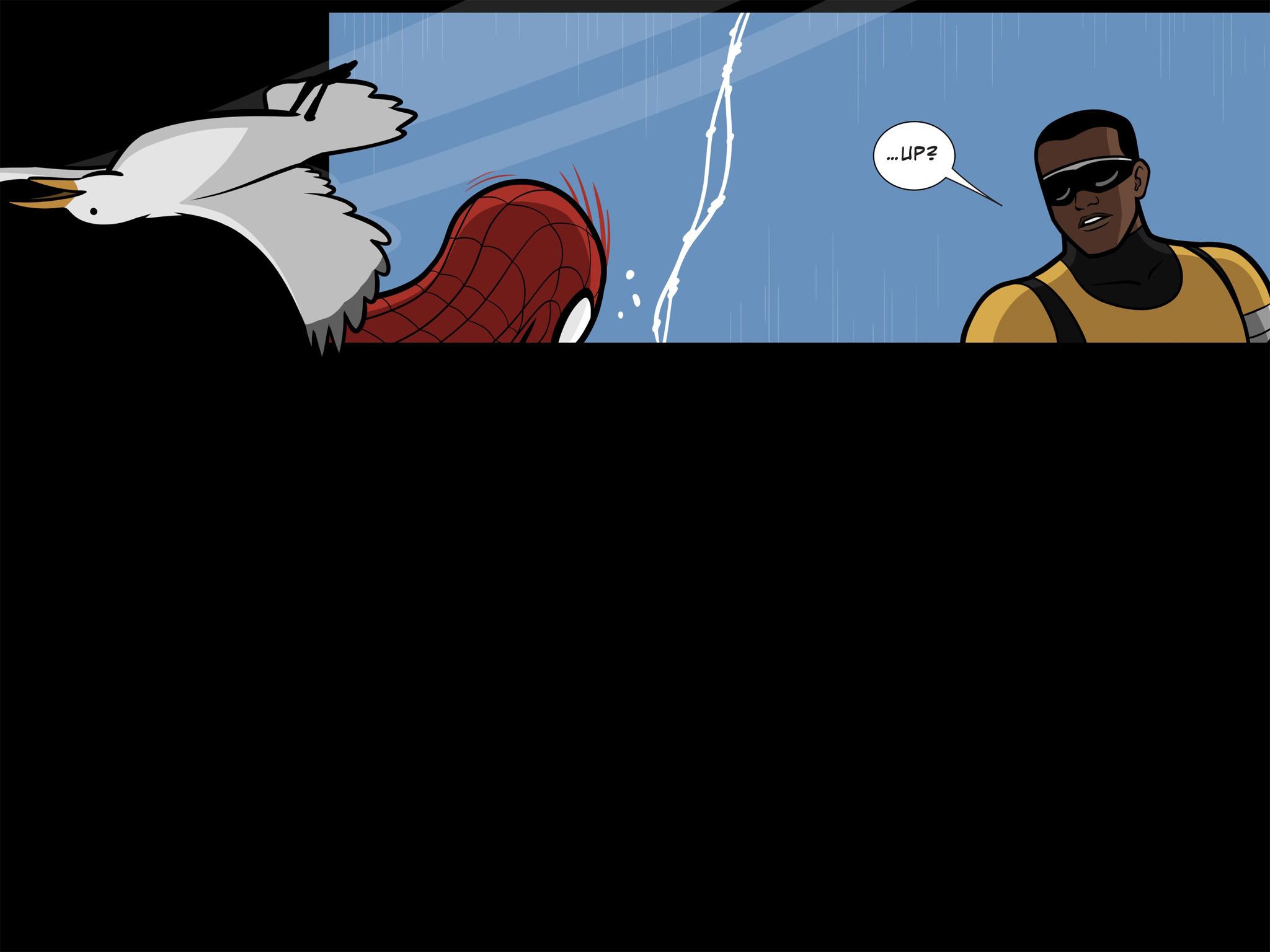 Read online Ultimate Spider-Man (Infinite Comics) (2015) comic -  Issue #11 - 13