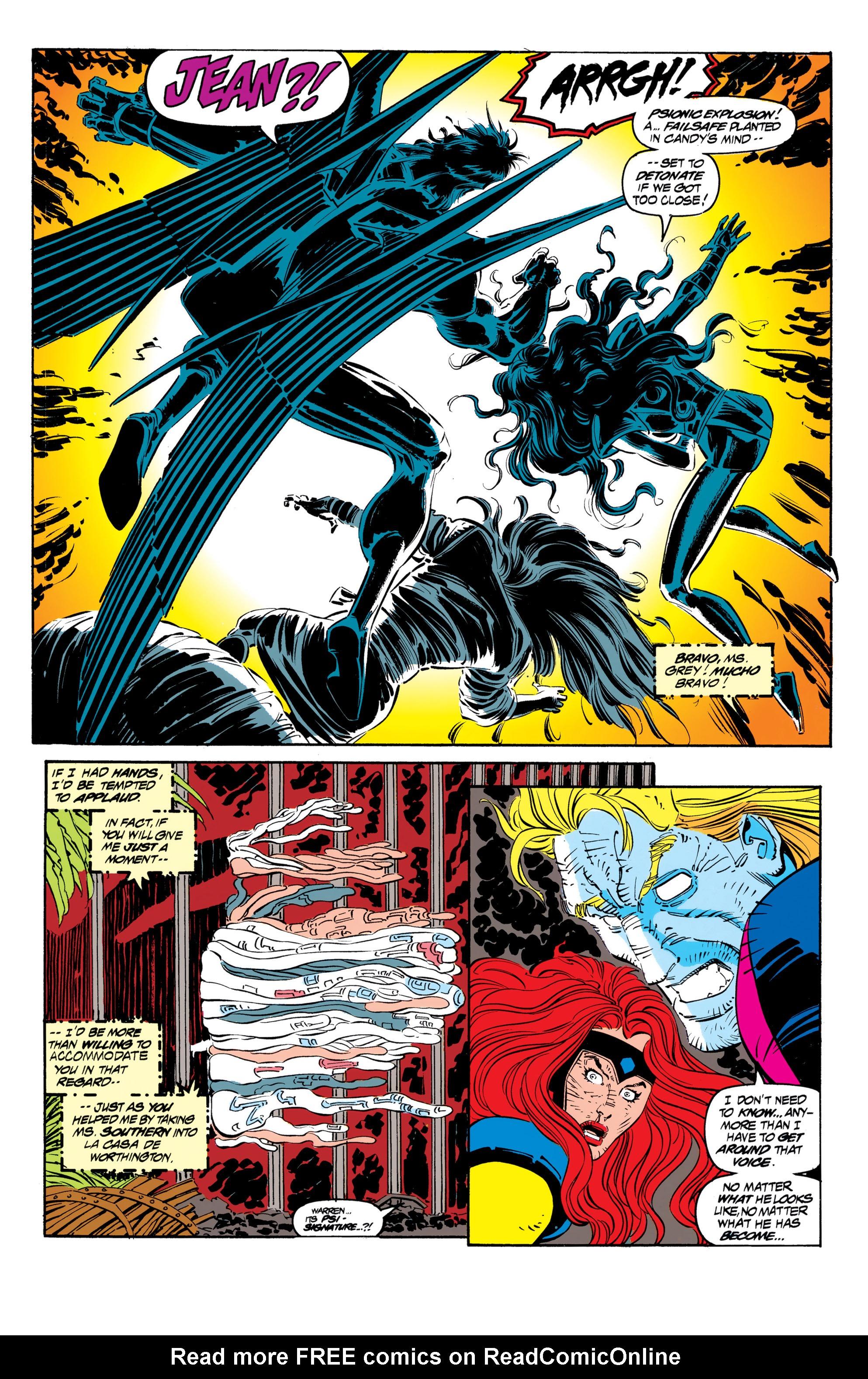 Read online Uncanny X-Men (1963) comic -  Issue #306 - 16