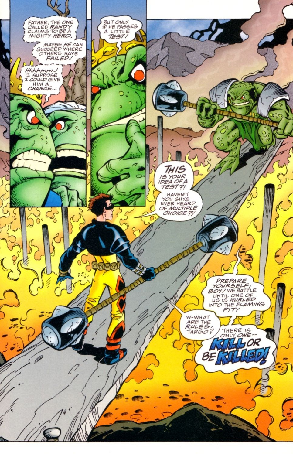 Read online Randy O'Donnell is The M@N comic -  Issue #3 - 11