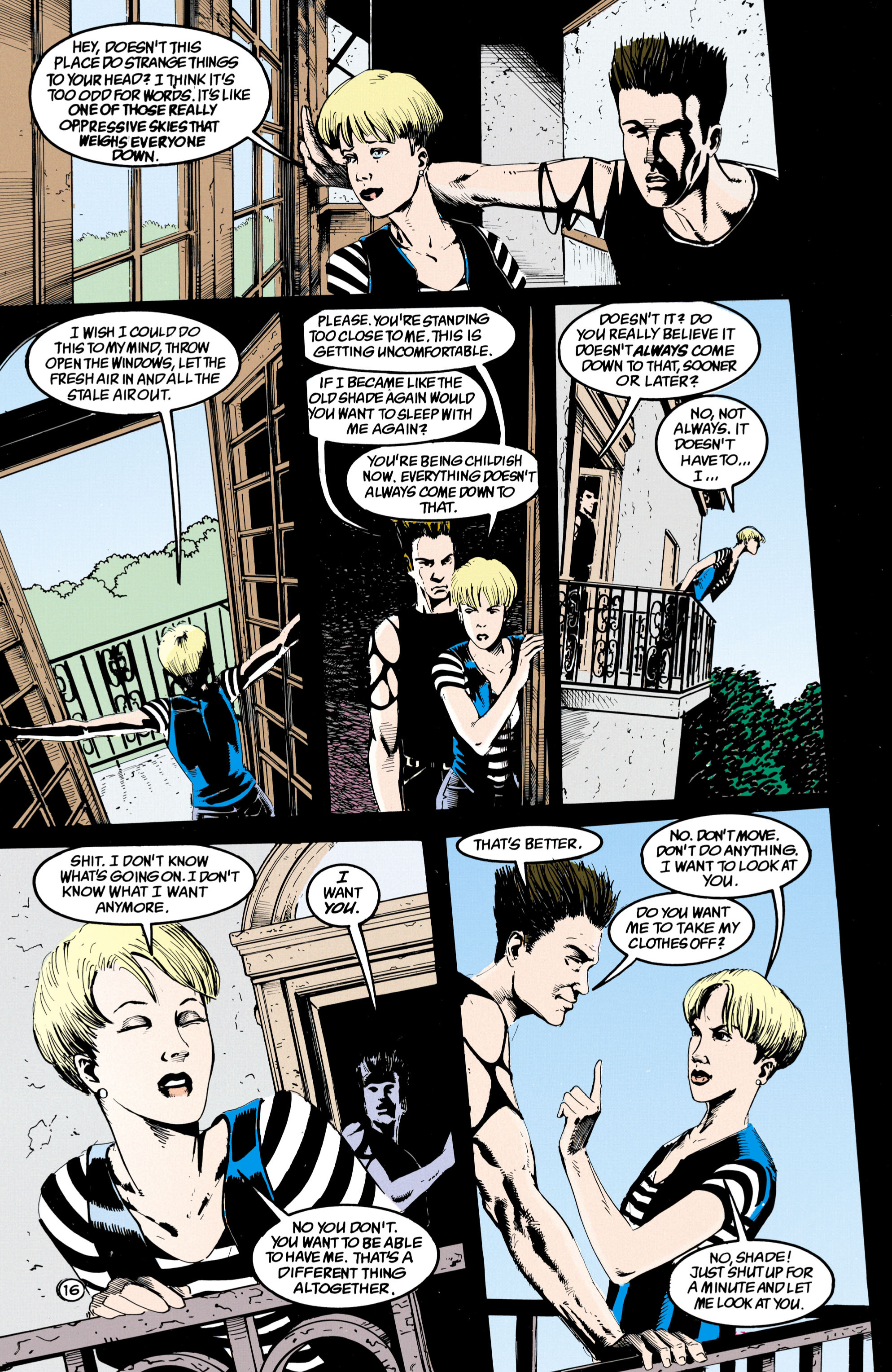 Read online Shade, the Changing Man comic -  Issue #36 - 17