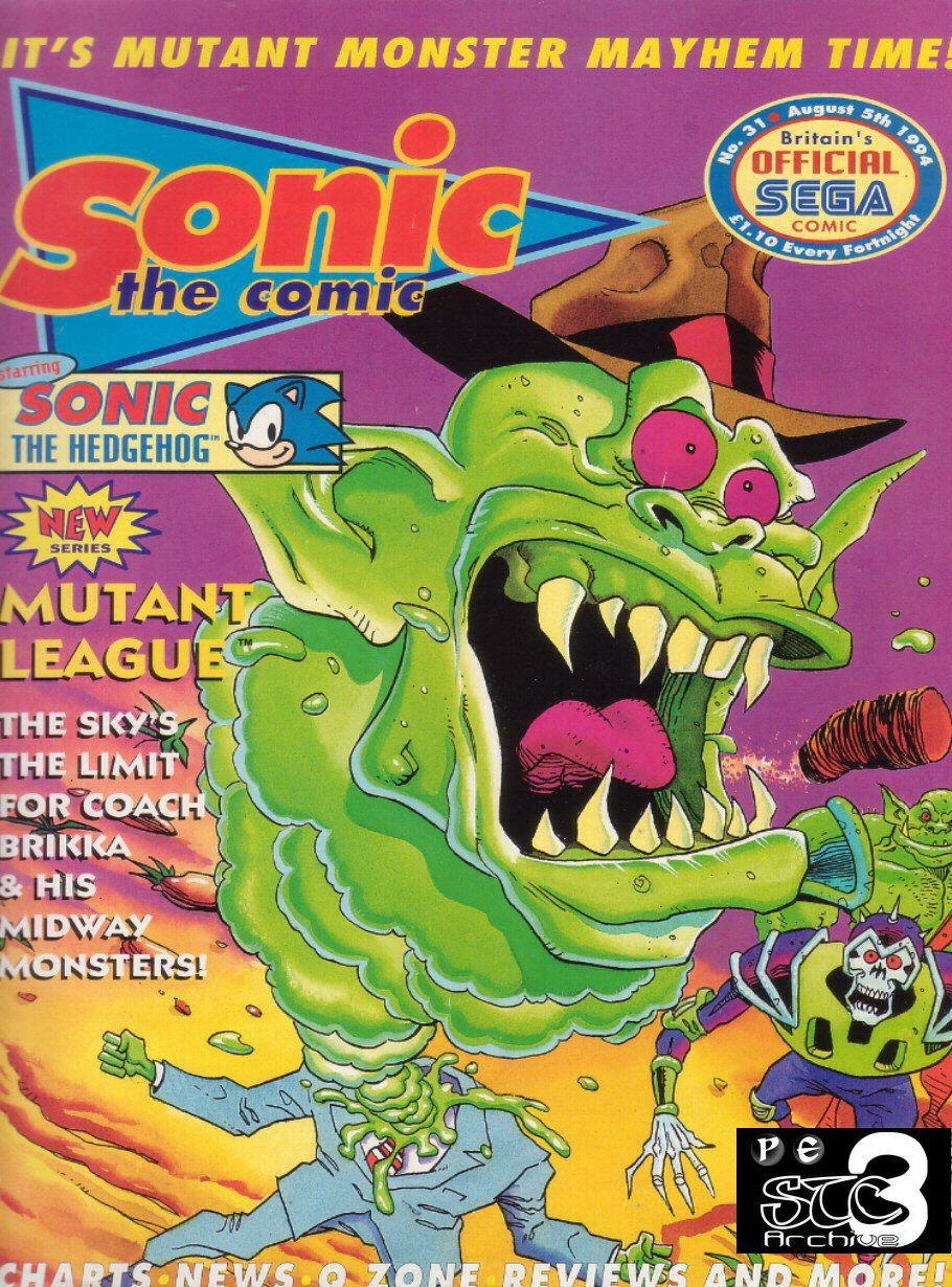 Read online Sonic the Comic comic -  Issue #31 - 1