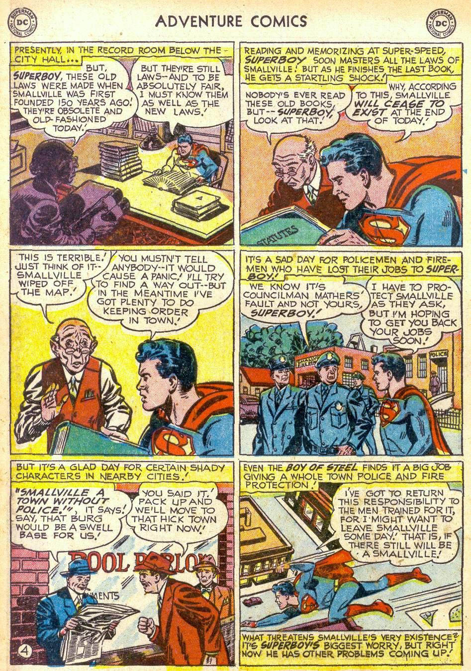 Read online Adventure Comics (1938) comic -  Issue #172 - 6