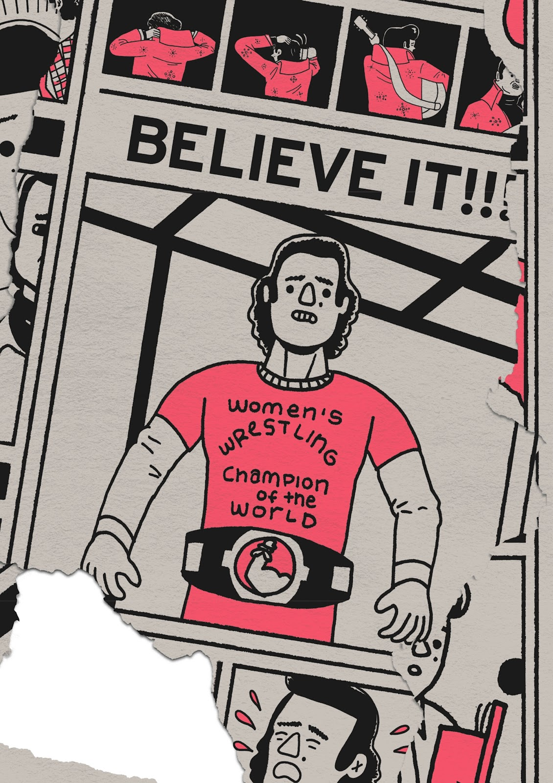 Read online Is This Guy For Real?: The Unbelievable Andy Kaufman comic -  Issue # TPB (Part 3) - 75