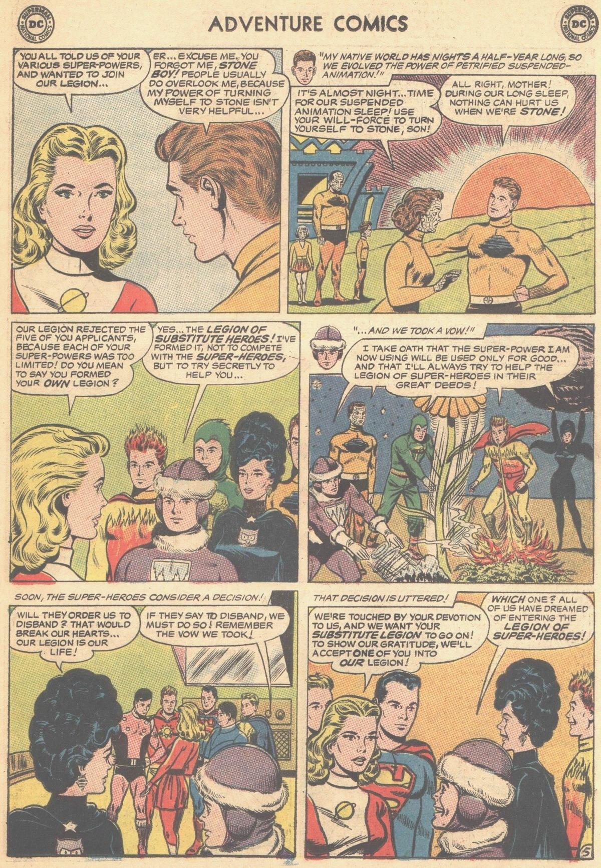 Read online Adventure Comics (1938) comic -  Issue #315 - 7