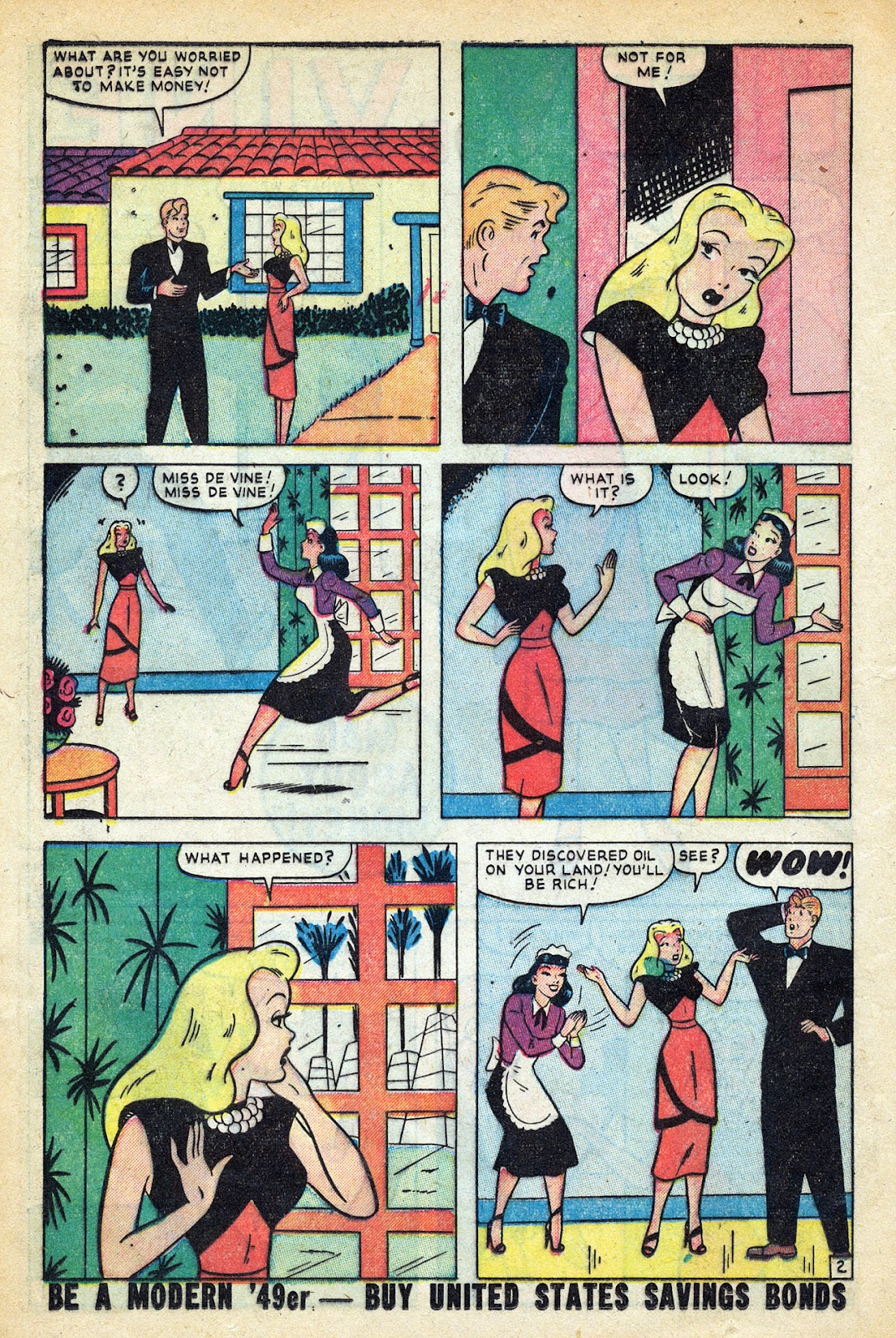 Read online Nellie The Nurse (1945) comic -  Issue #20 - 20