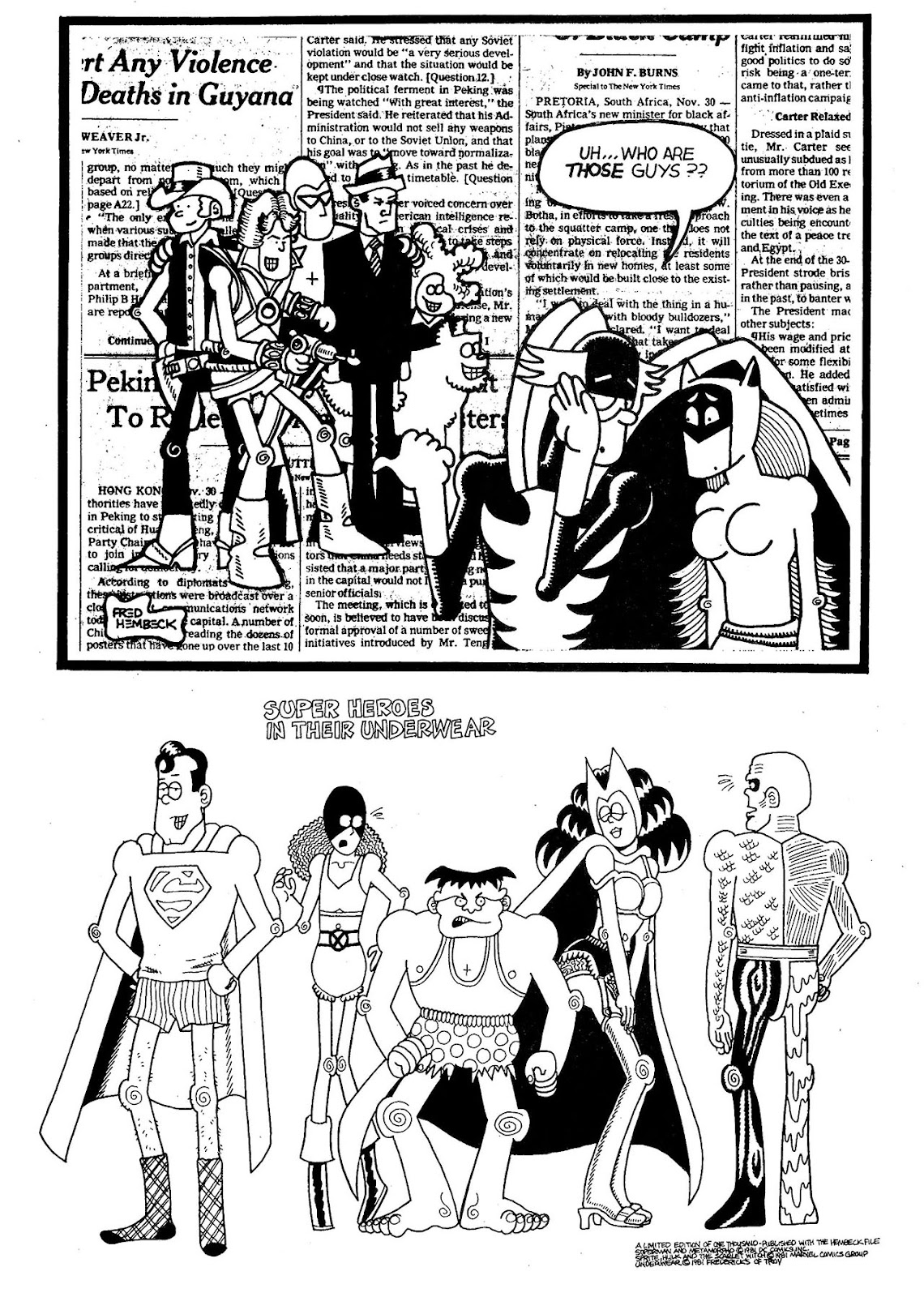 Read online The Nearly Complete Essential Hembeck Archives Omnibus comic -  Issue # TPB (Part 5) - 15