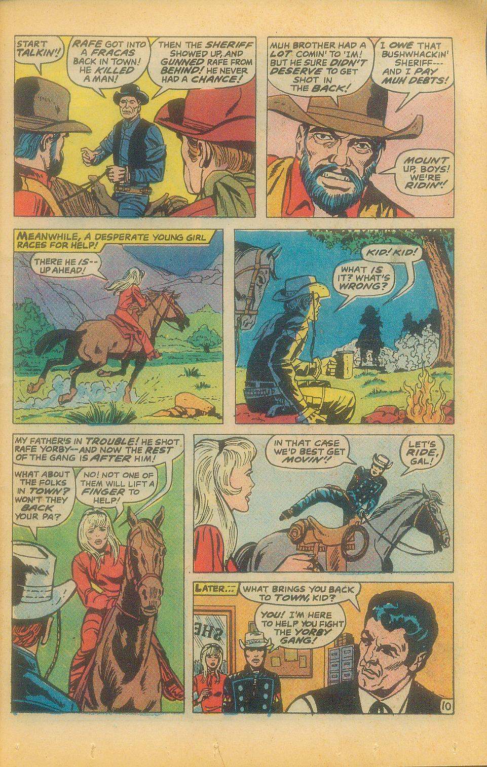 The Rawhide Kid (1955) issue 92 - Page 13