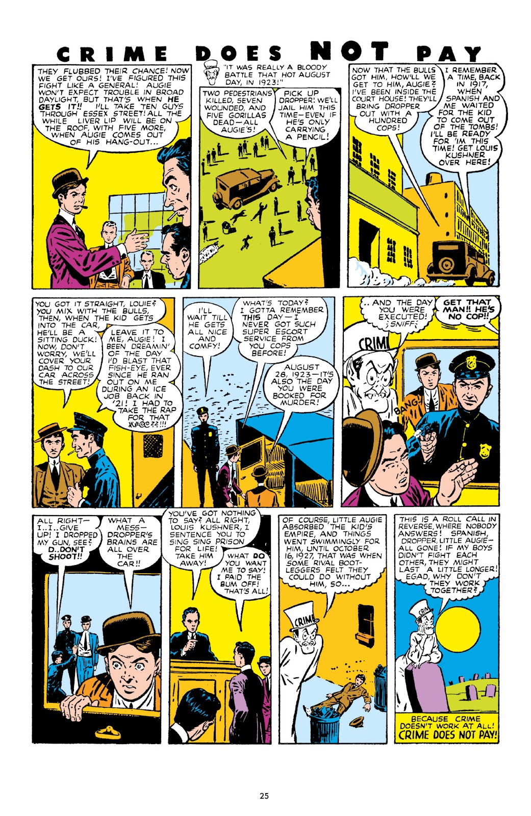 Read online Crime Does Not Pay Archives comic -  Issue # TPB 10 (Part 1) - 27